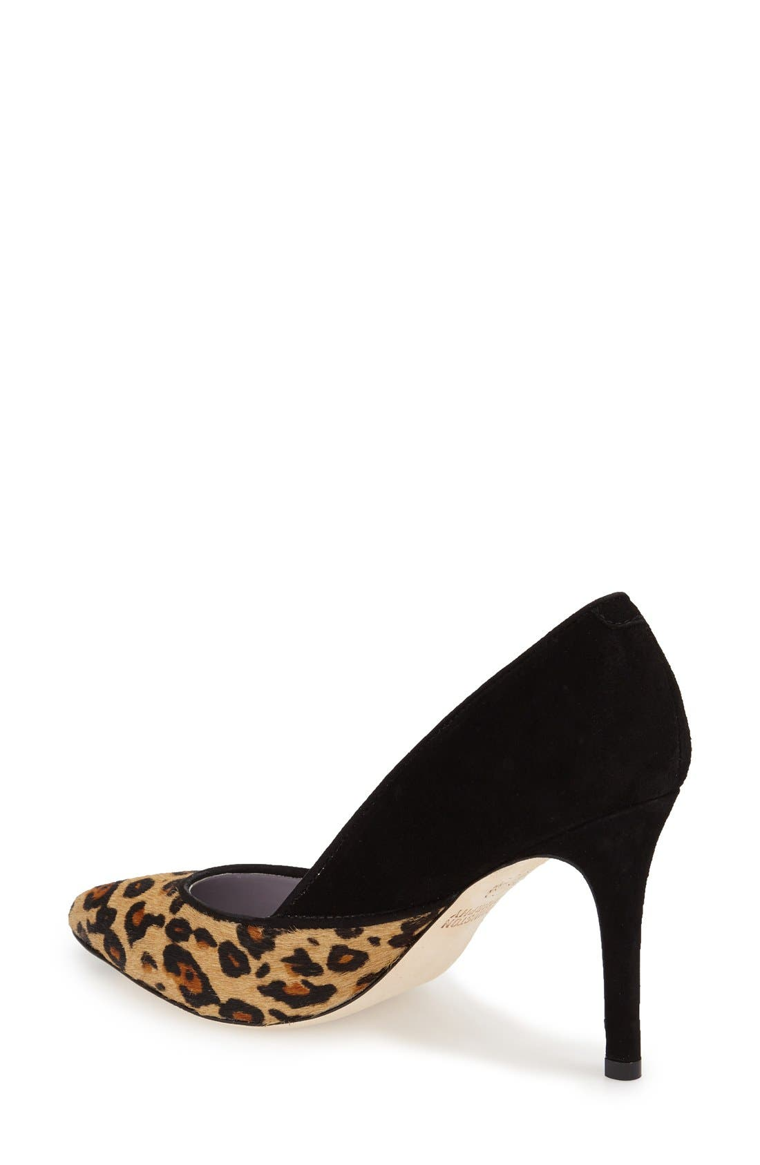 'Vanessa' Pointy Toe Leather Pump,                             Alternate thumbnail 10, color,