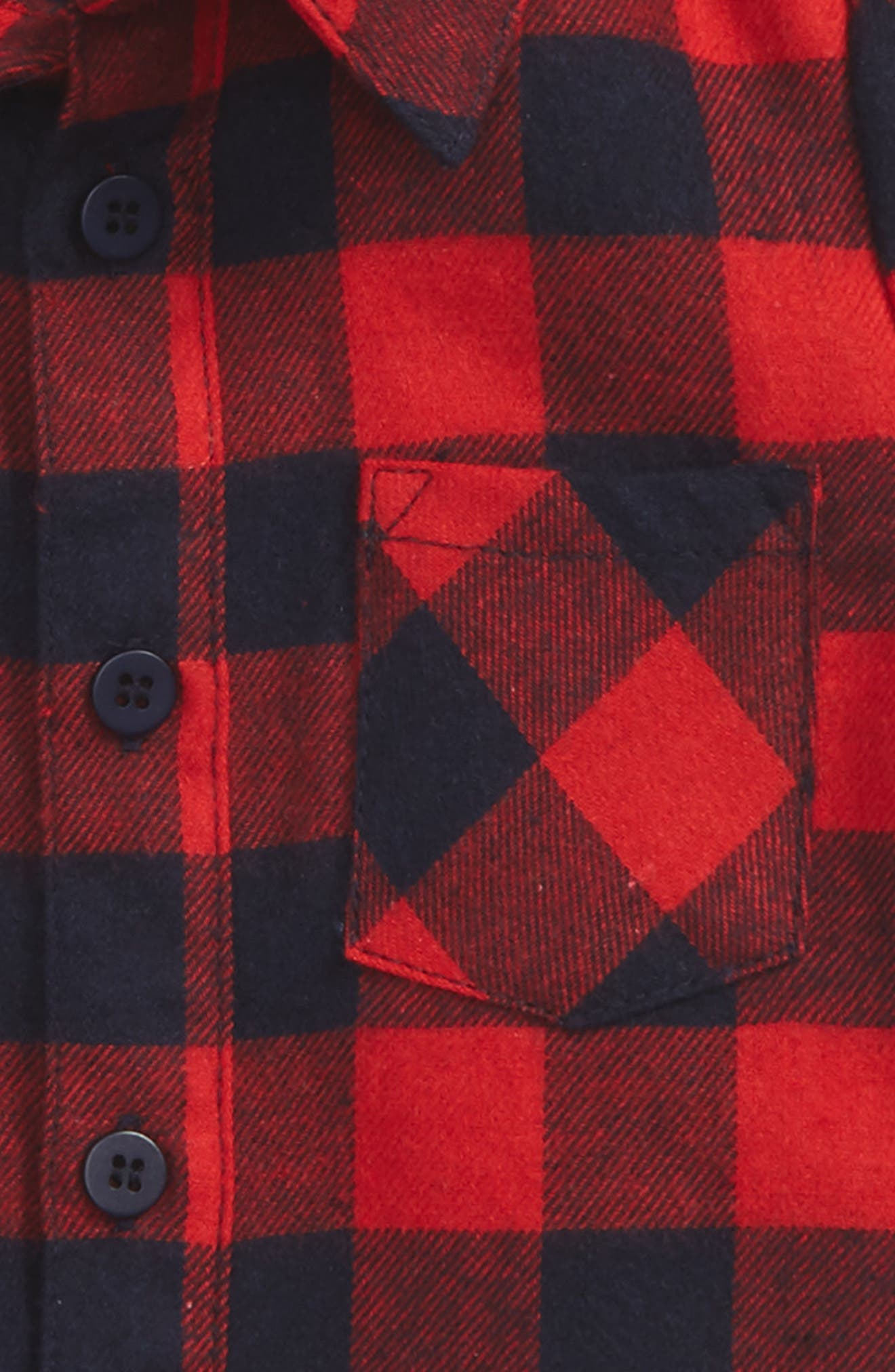 Lucky Check Woven Shirt,                             Alternate thumbnail 2, color,                             641
