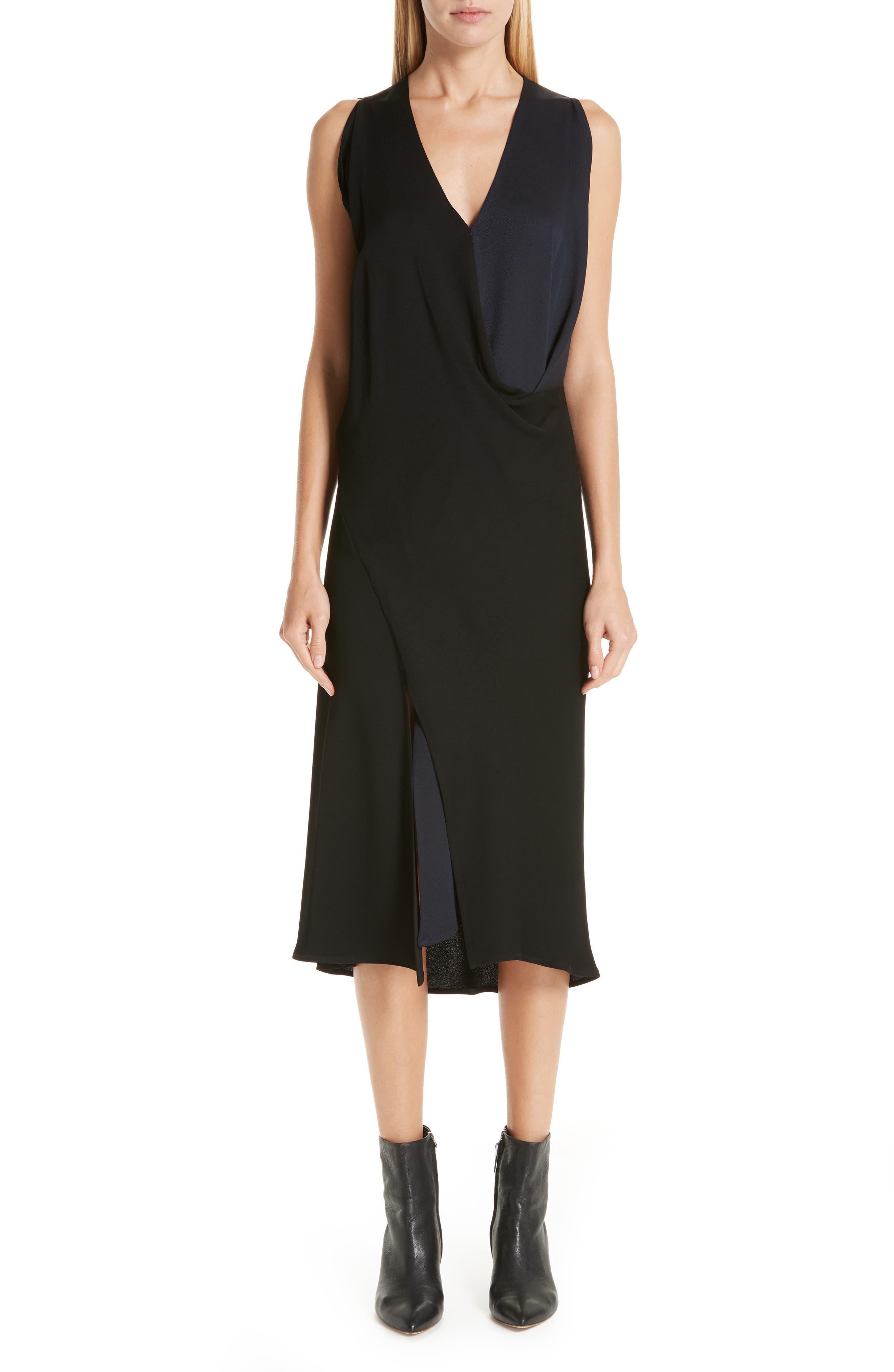 Colorblock Dress, Main, color, 001