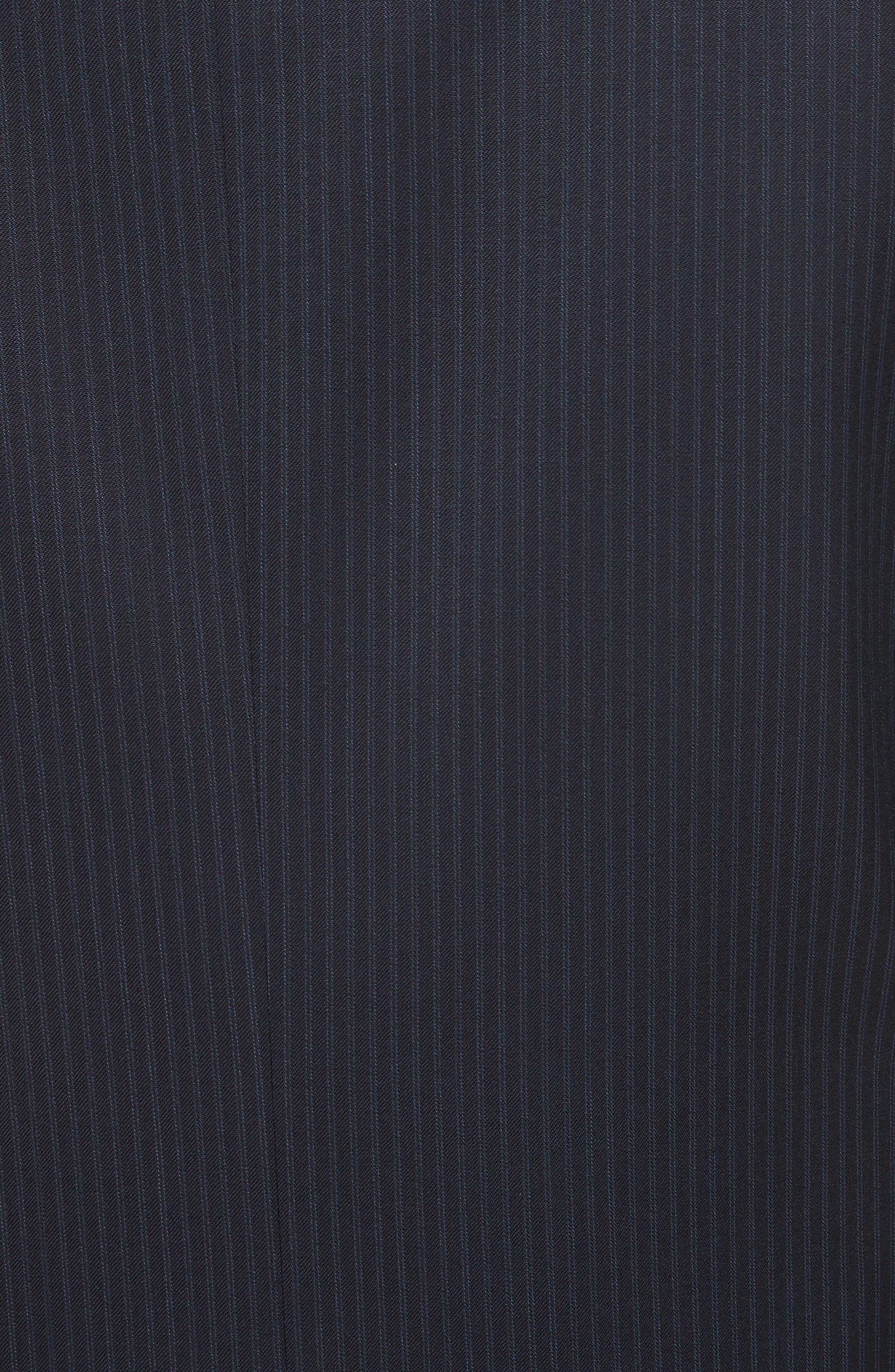 Classic Fit Stripe Wool Suit,                             Alternate thumbnail 7, color,                             410