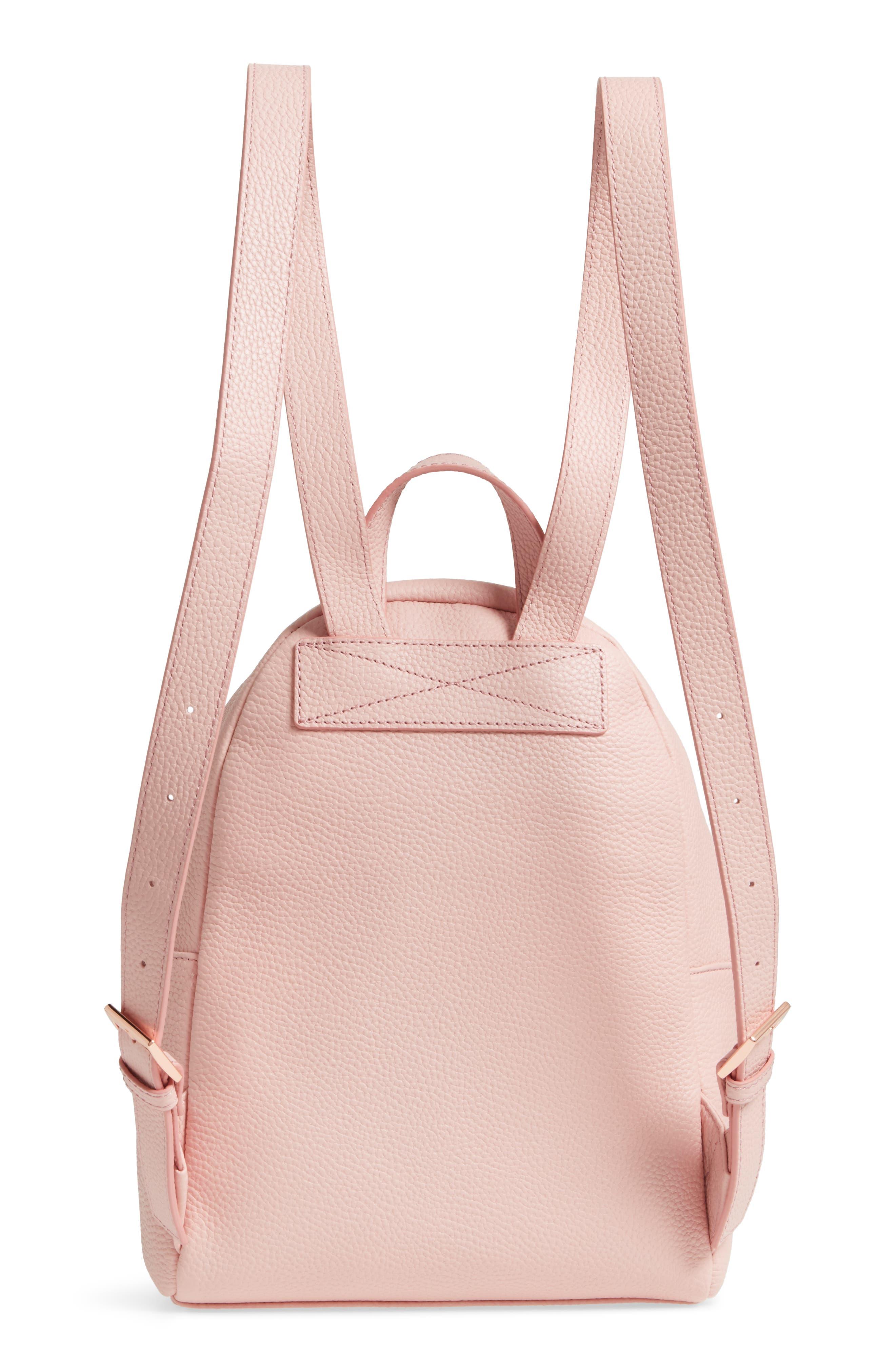 Pearen Leather Backpack,                             Alternate thumbnail 14, color,