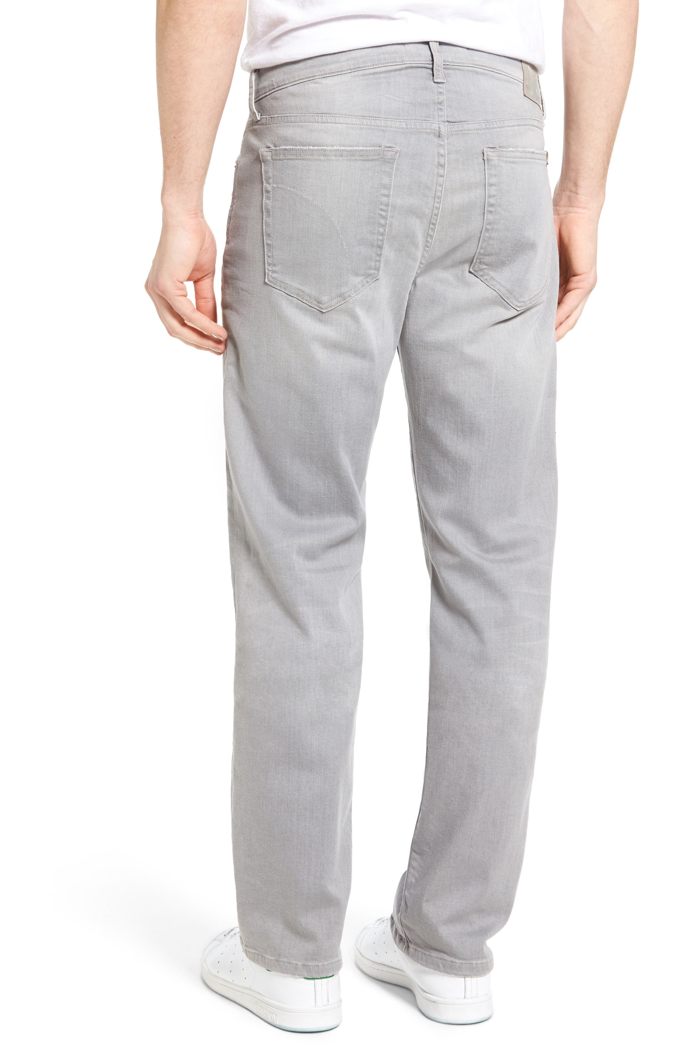 Classic Straight Leg Jeans,                             Alternate thumbnail 2, color,                             050