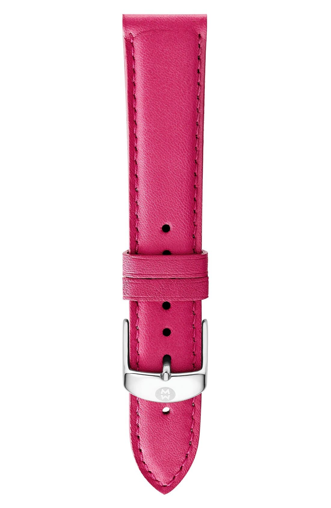16mm Leather Watch Strap,                             Main thumbnail 18, color,