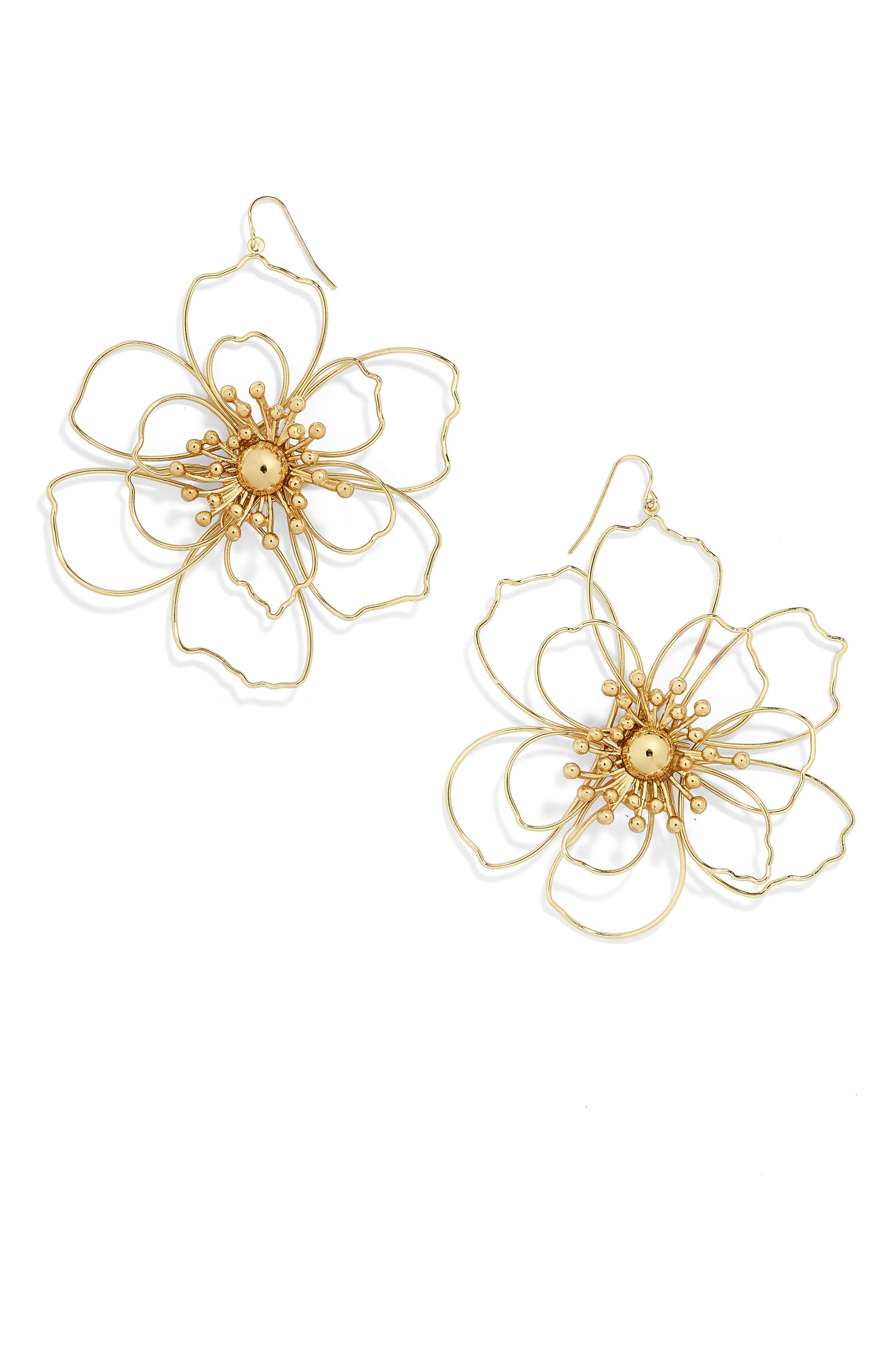 BAUBLEBAR Blossom Drop Earrings, Main, color, 710