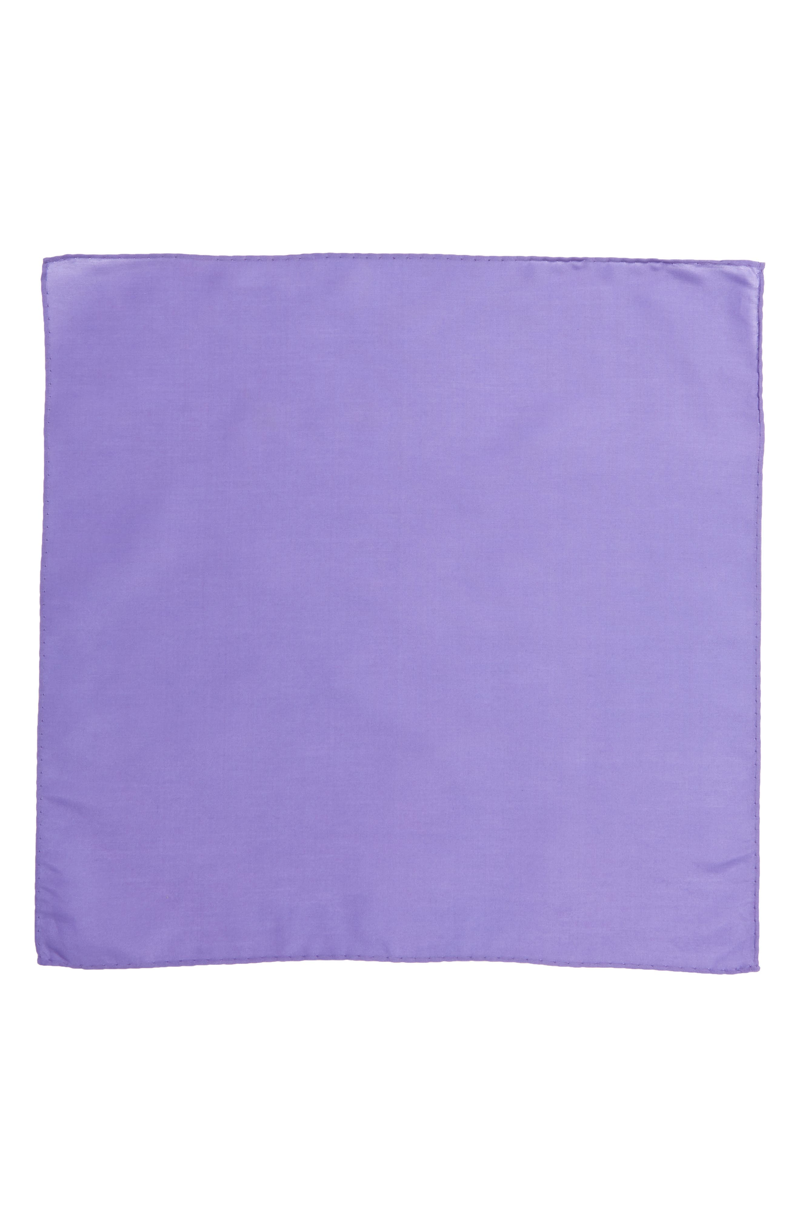 Solid Cotton & Silk Pocket Square,                             Alternate thumbnail 14, color,