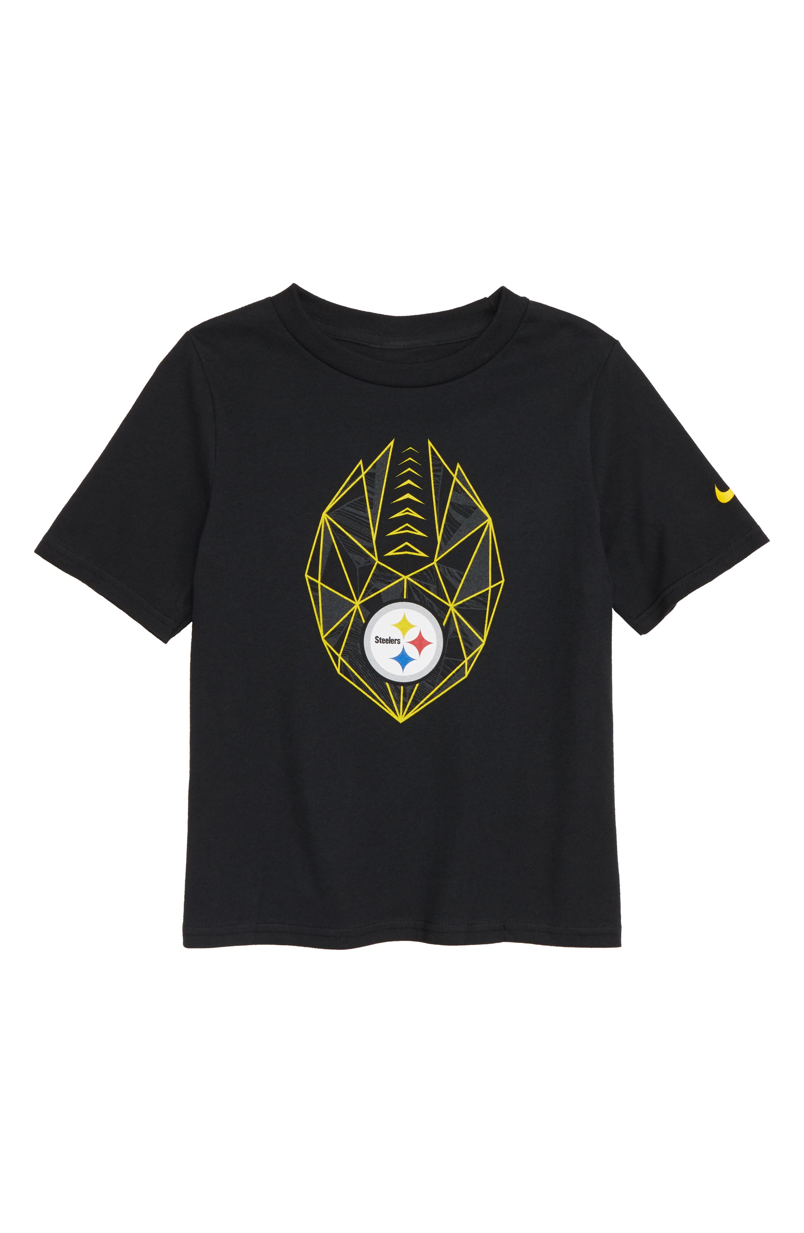 NFL Pittsburgh Steelers Graphic T-Shirt,                             Main thumbnail 1, color,                             BLACK