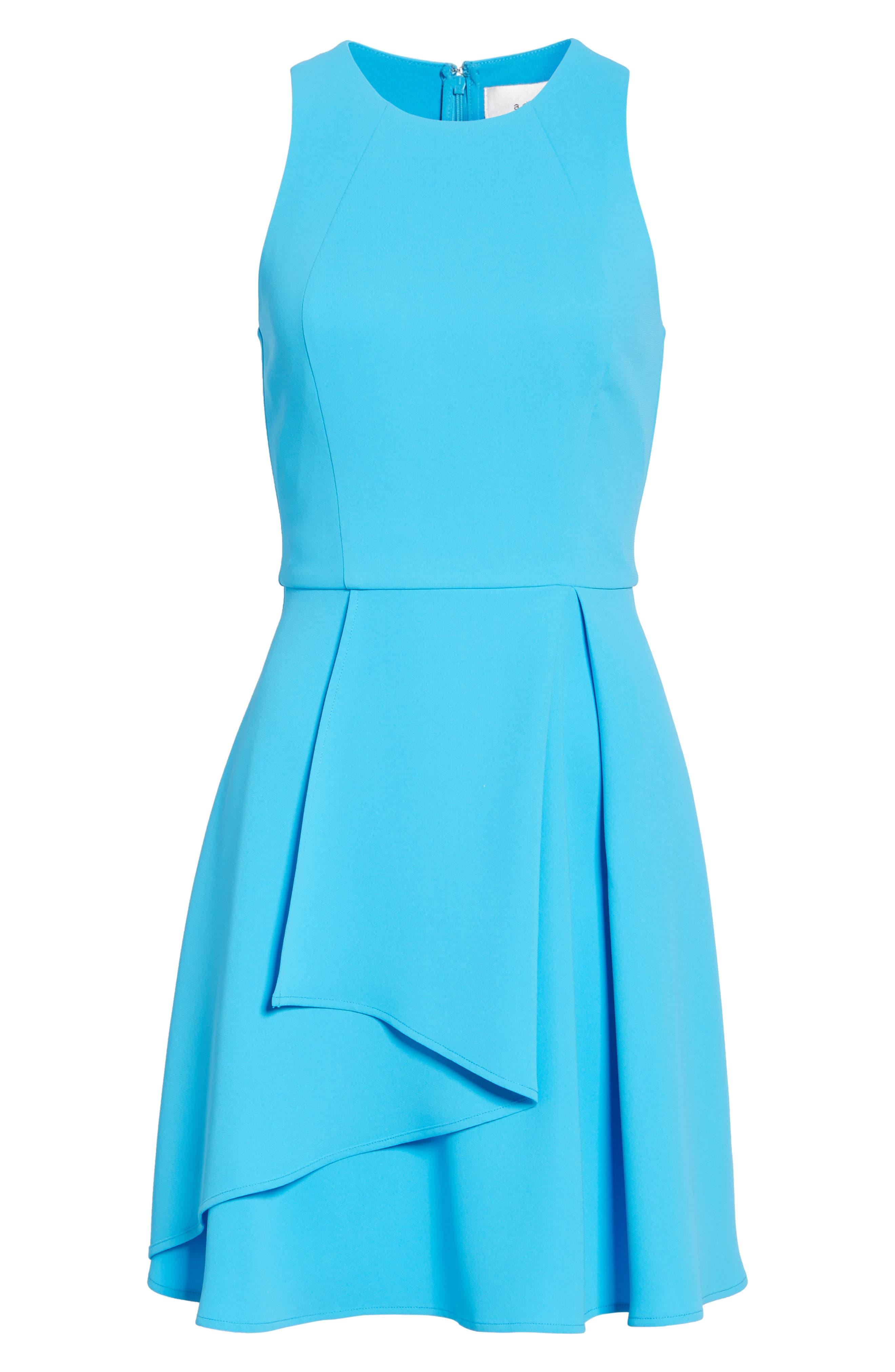 Athena Fit & Flare Dress,                             Alternate thumbnail 25, color,