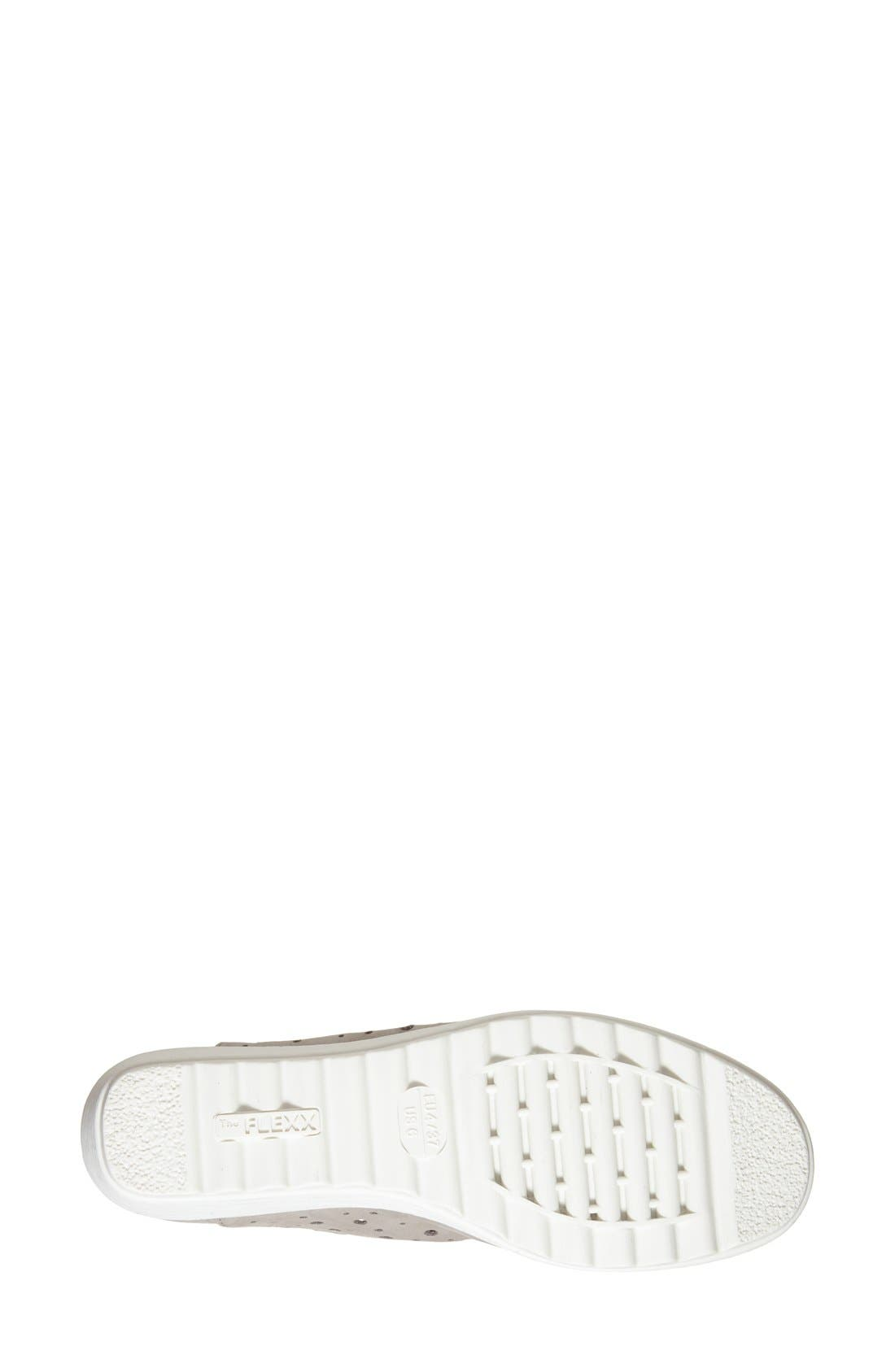 Run Crazy Too Perforated Wedge Sneaker,                             Alternate thumbnail 34, color,