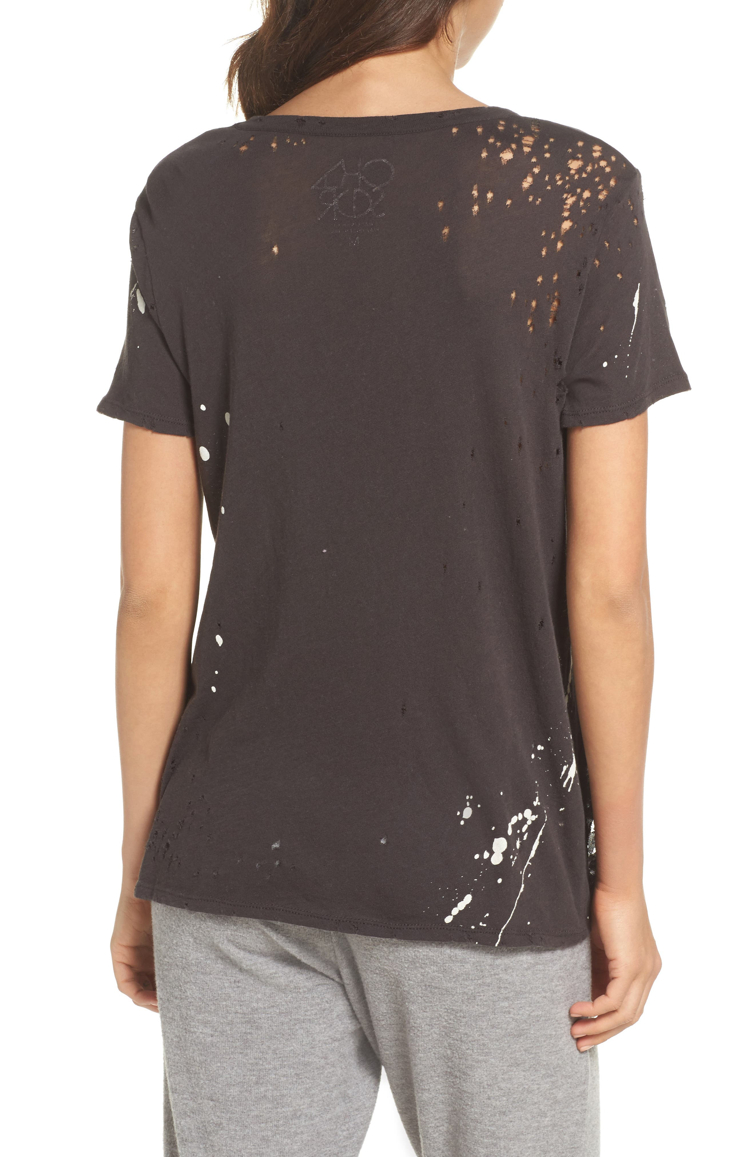 Distressed Tee,                             Alternate thumbnail 2, color,                             003