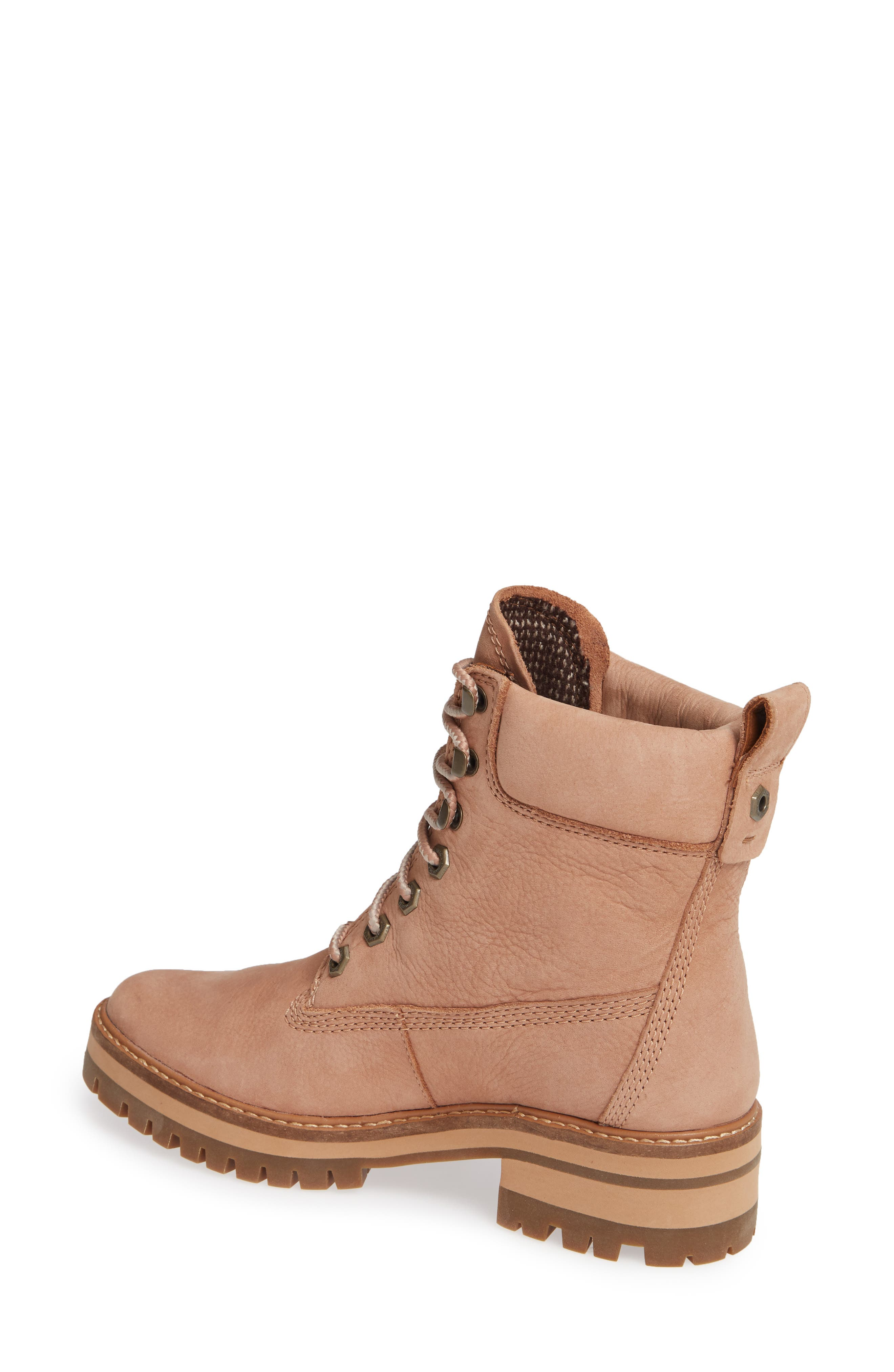 Courmayeur Valley Water Resistant Hiking Boot,                             Alternate thumbnail 2, color,                             TAWNY BROWN NUBUCK