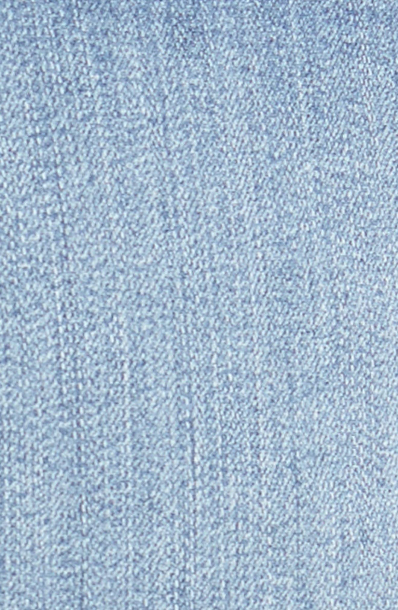 Ab-solution Cuffed Denim Shorts,                             Alternate thumbnail 5, color,                             458