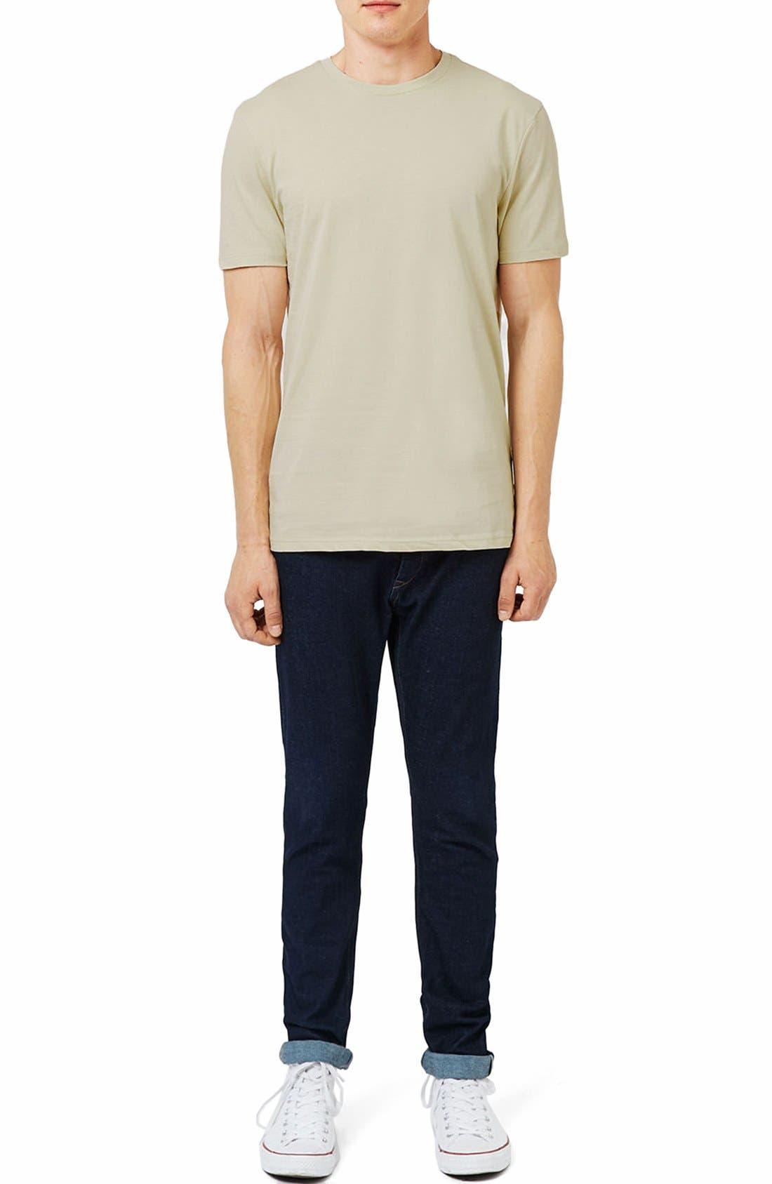 Slim Fit Crewneck T-Shirt,                             Alternate thumbnail 236, color,
