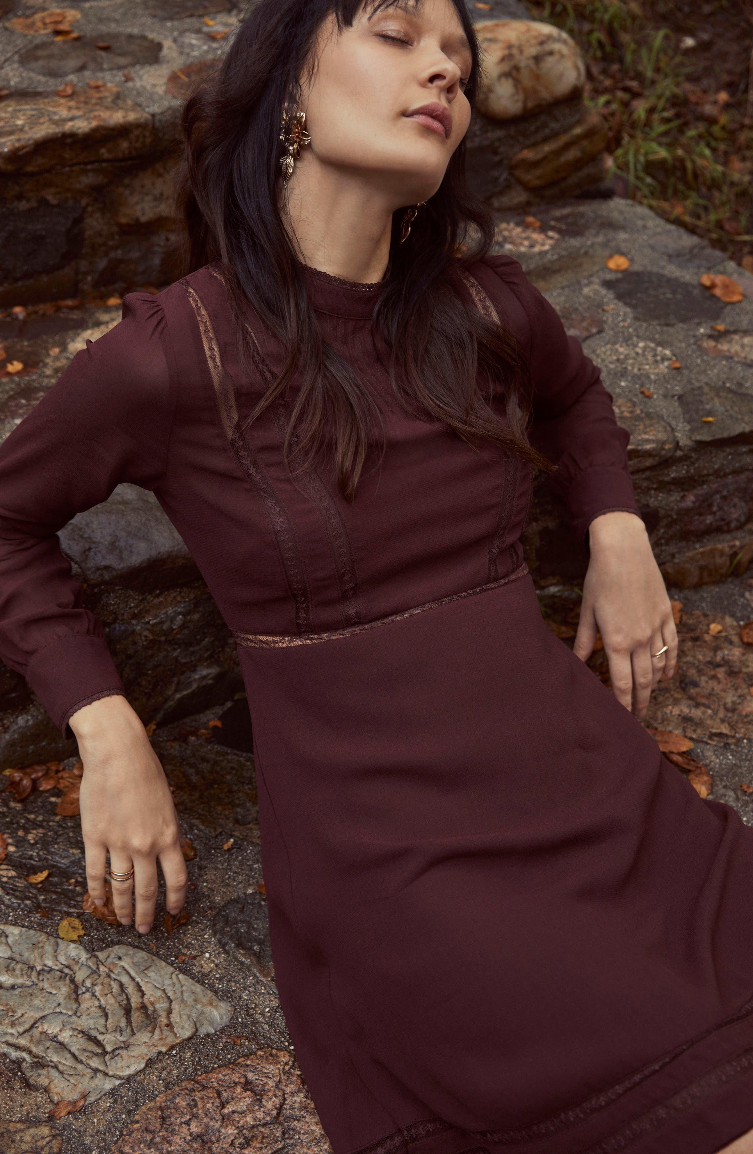 Kirsten A-Line Dress,                             Alternate thumbnail 25, color,