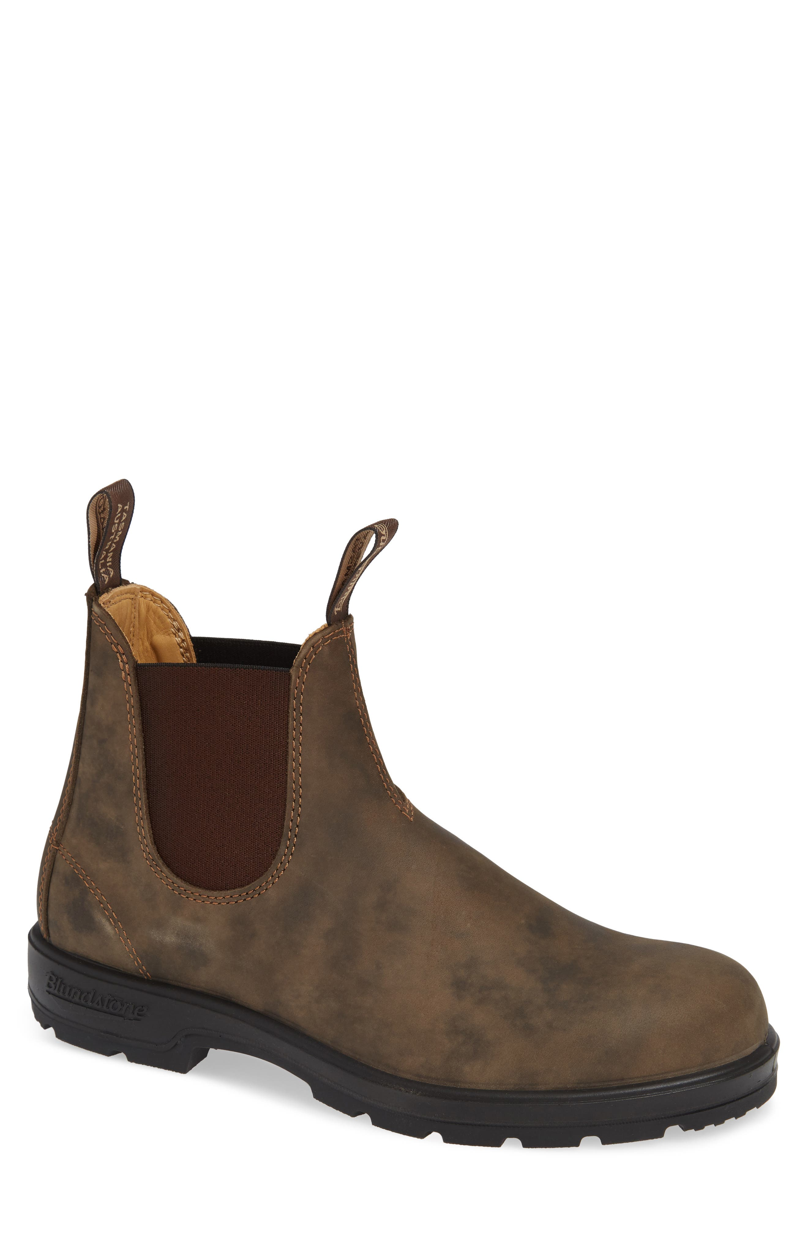 Chelsea Boot,                             Main thumbnail 1, color,                             RUSTIC BROWN