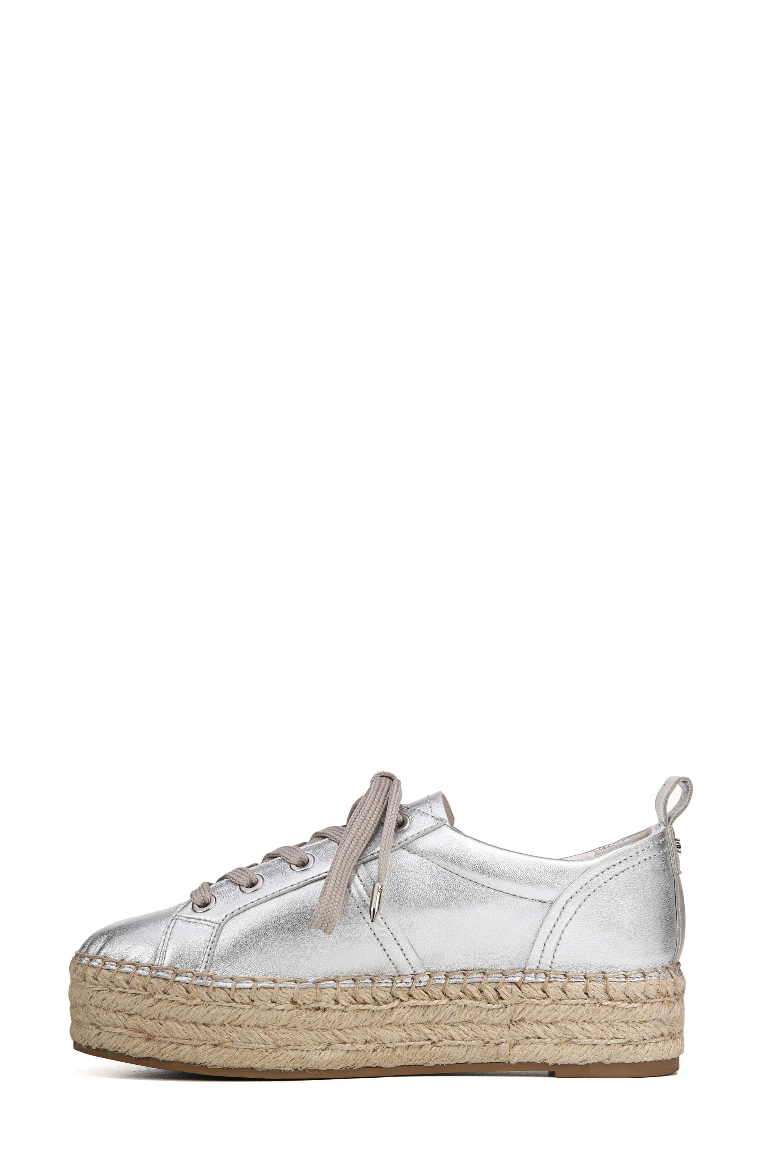Carleigh Espadrille Sneaker,                             Alternate thumbnail 3, color,                             040