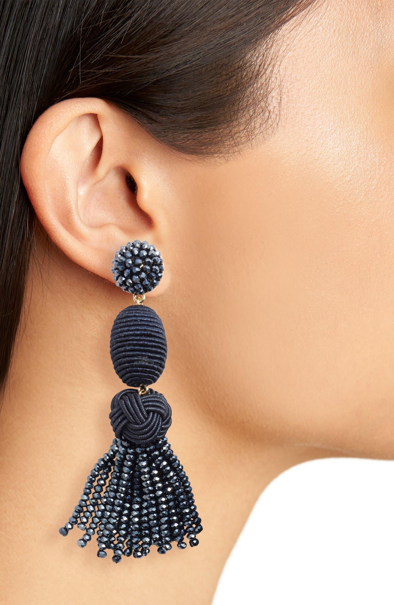Amina Drop Earrings,                             Alternate thumbnail 2, color,                             410