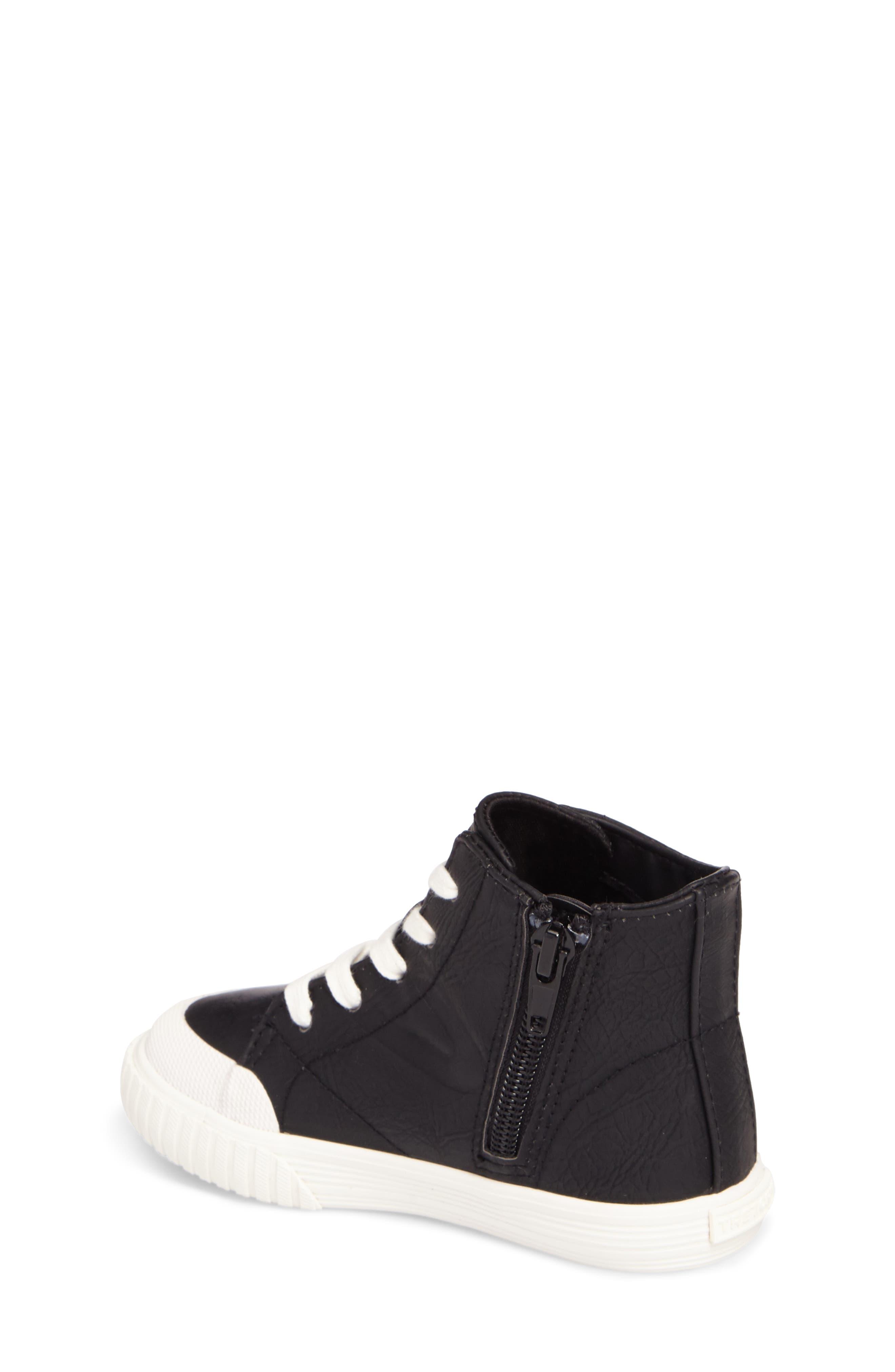 Marley High Top Sneaker,                             Alternate thumbnail 4, color,