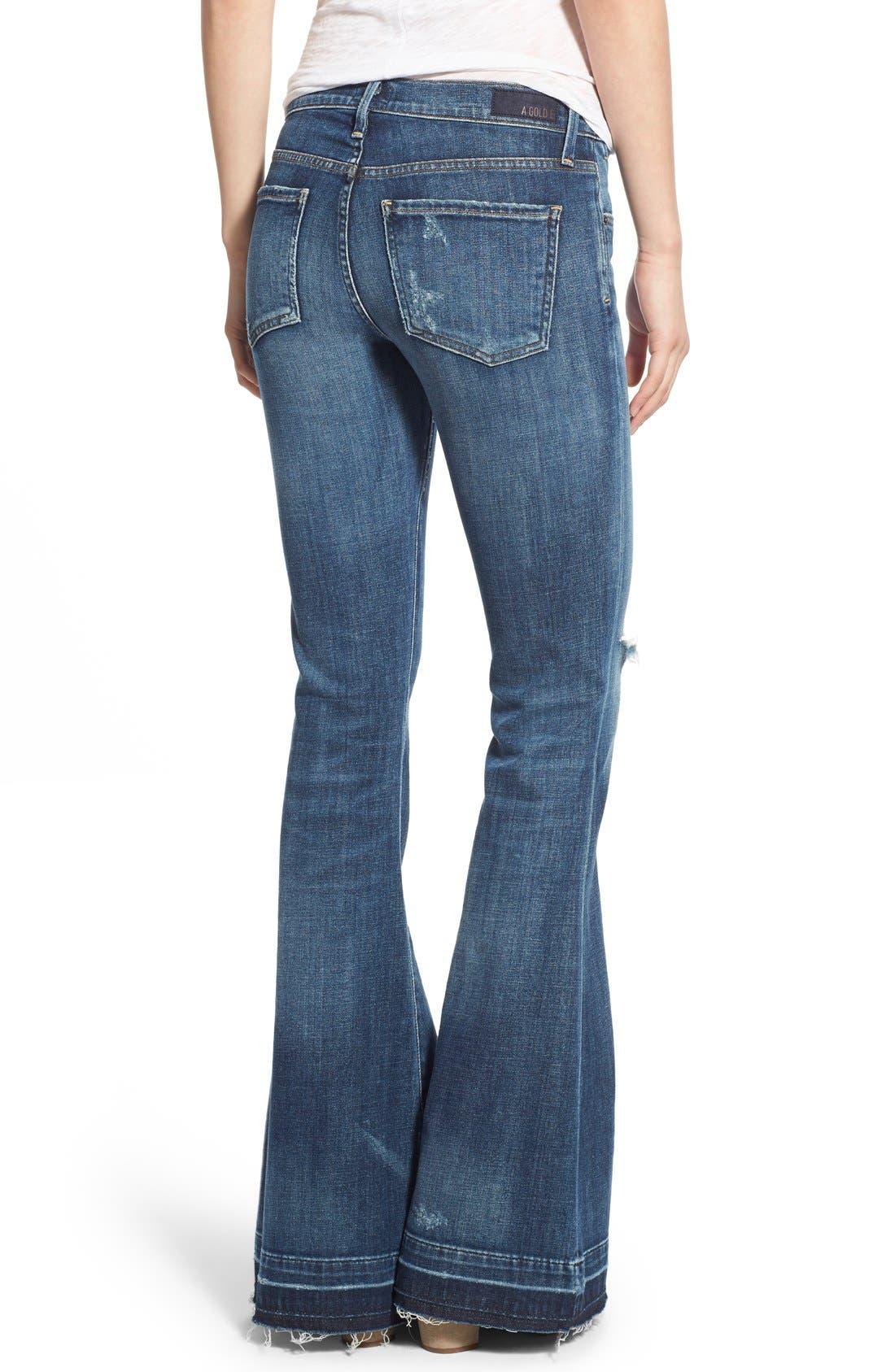 Madison Flare Jeans,                             Alternate thumbnail 2, color,                             404