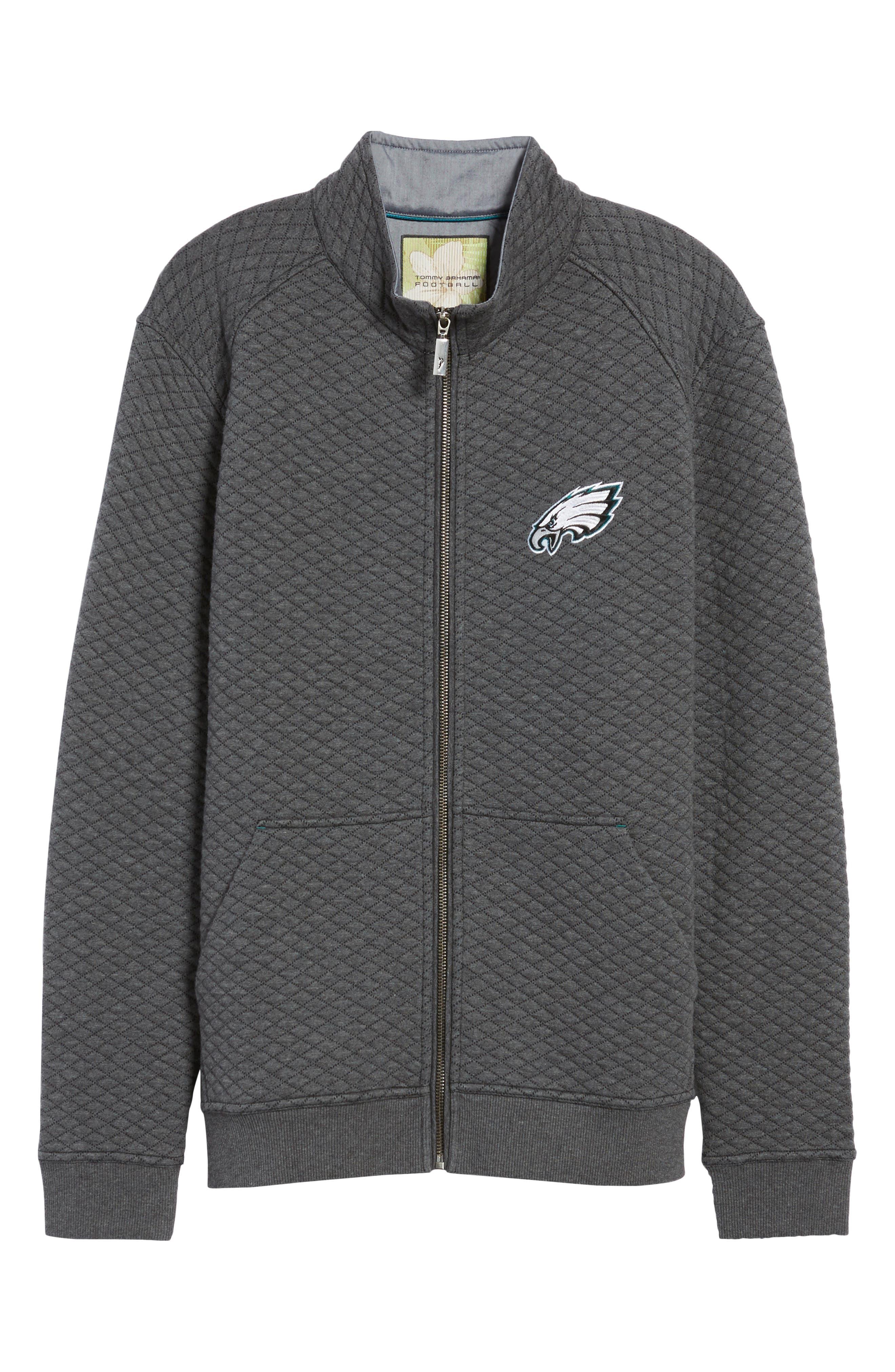 NFL Quiltessential Full Zip Sweatshirt,                             Alternate thumbnail 169, color,