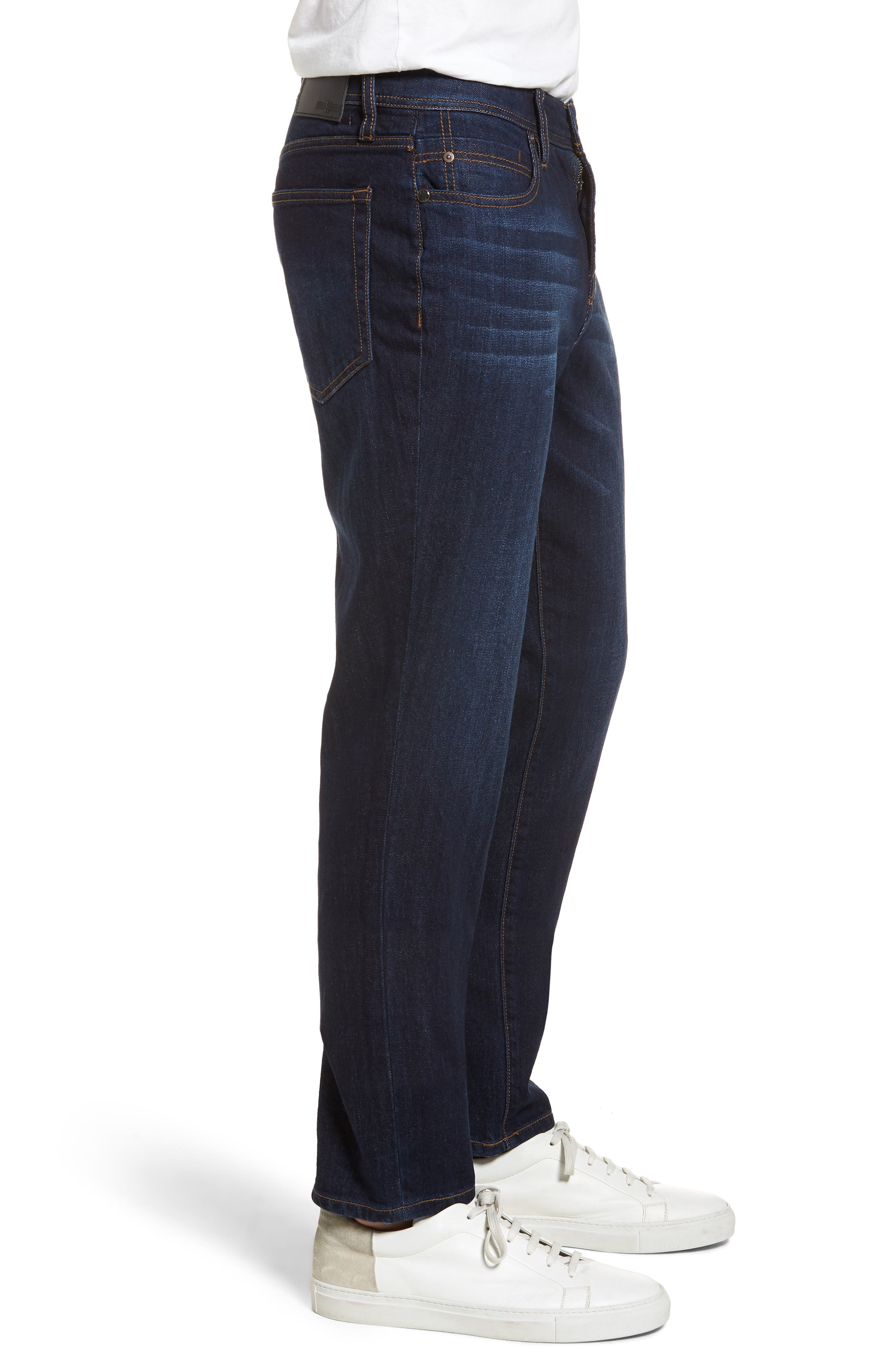 Jeans Co. Kingston Slim Straight Leg Jeans,                             Alternate thumbnail 3, color,                             SAN ARDO VINTAGE DARK