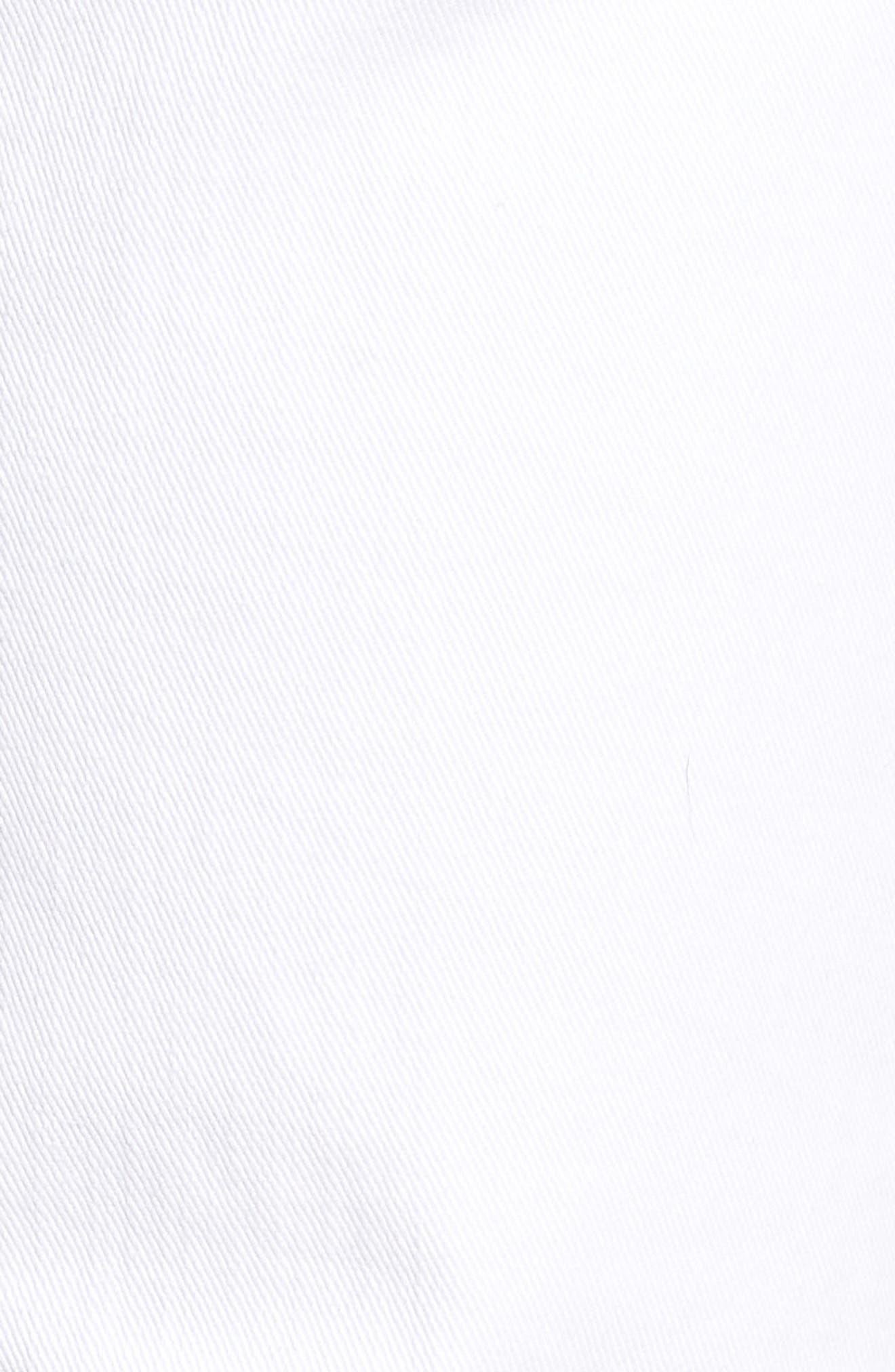 Mick Distressed Skinny Fit Jeans,                             Alternate thumbnail 5, color,                             WHITMAN OAK