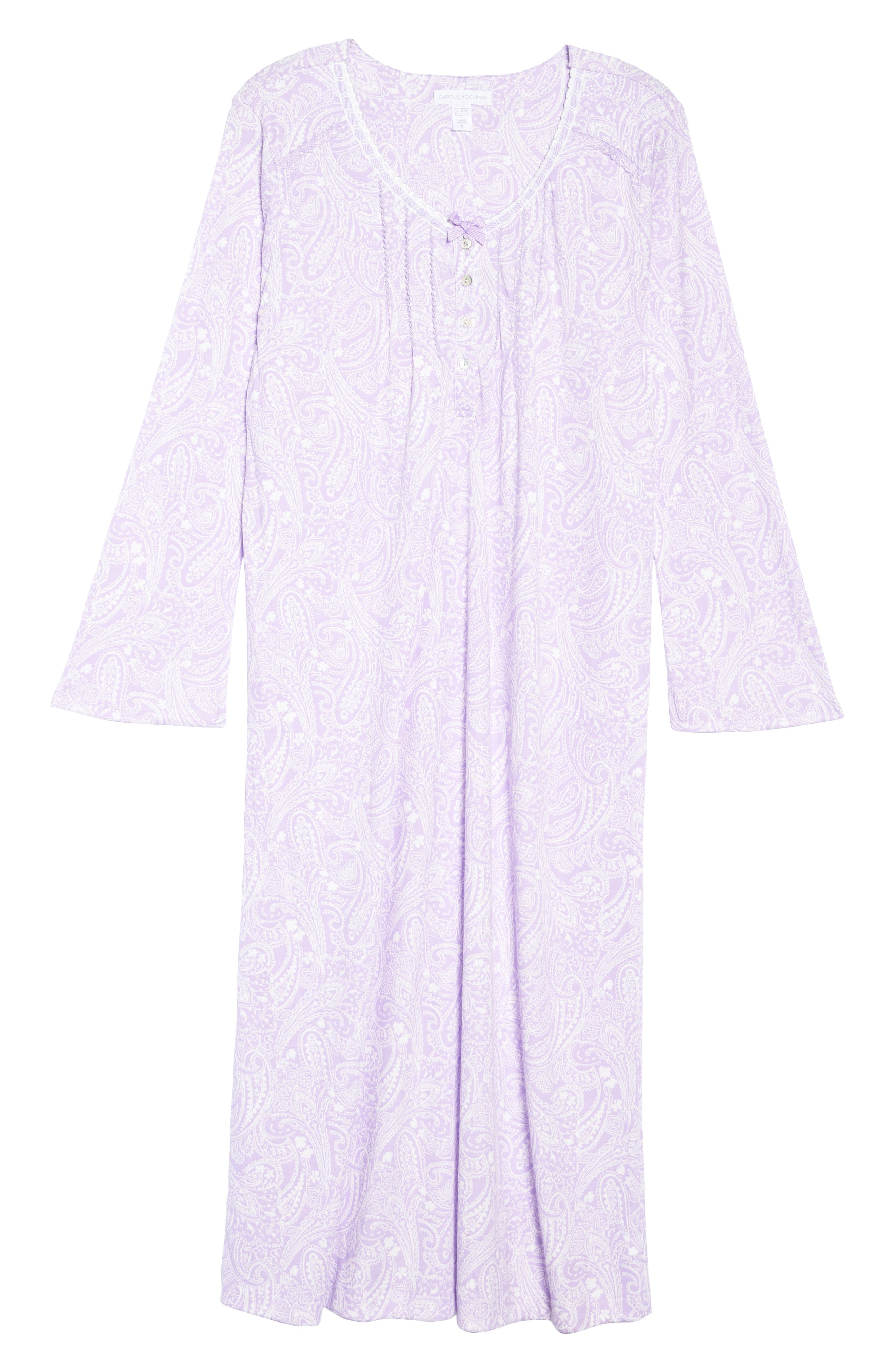 Long Nightgown,                             Alternate thumbnail 6, color,                             575