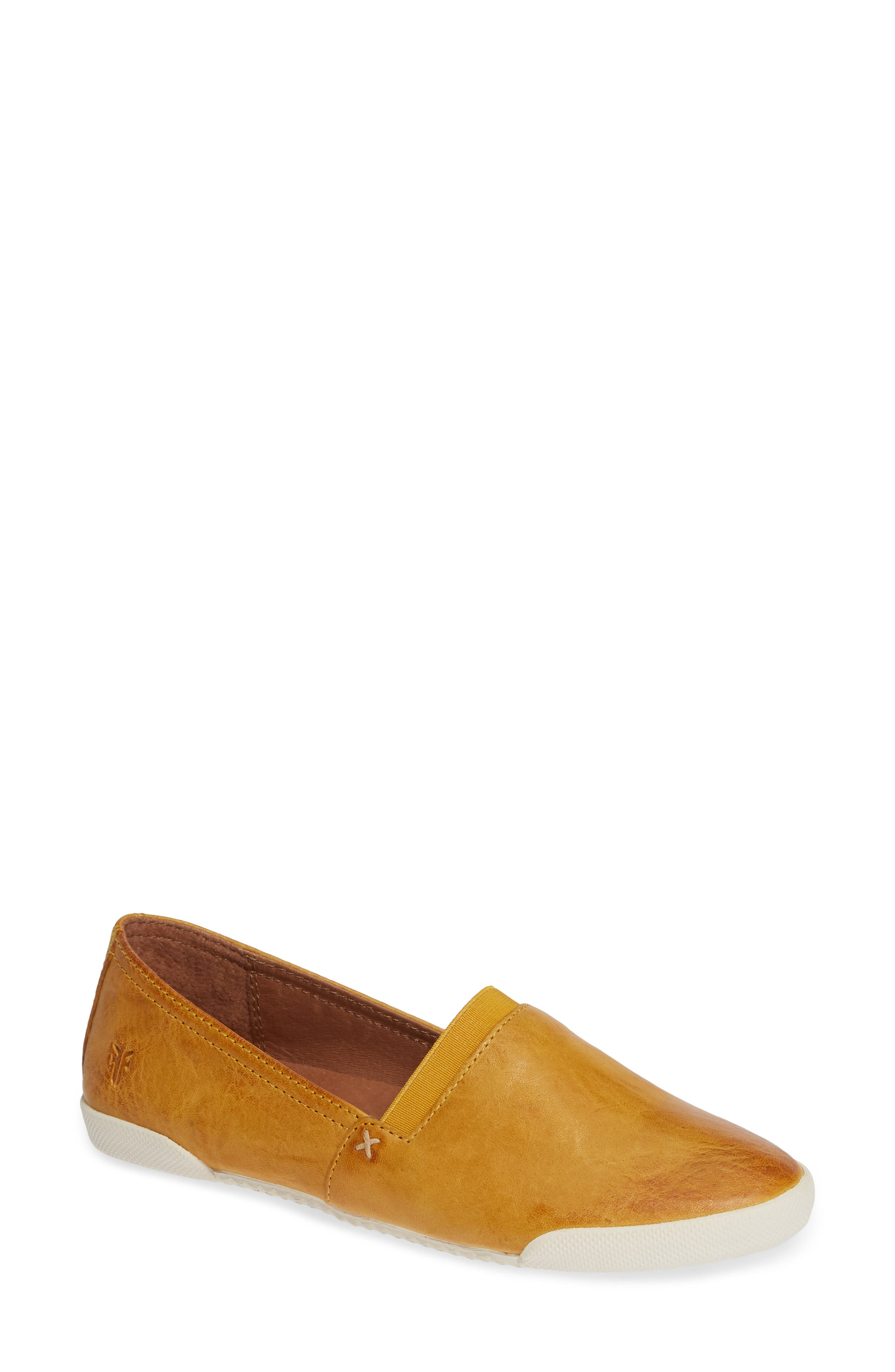 'Melanie' Slip-On,                             Main thumbnail 1, color,                             SUNRISE LEATHER