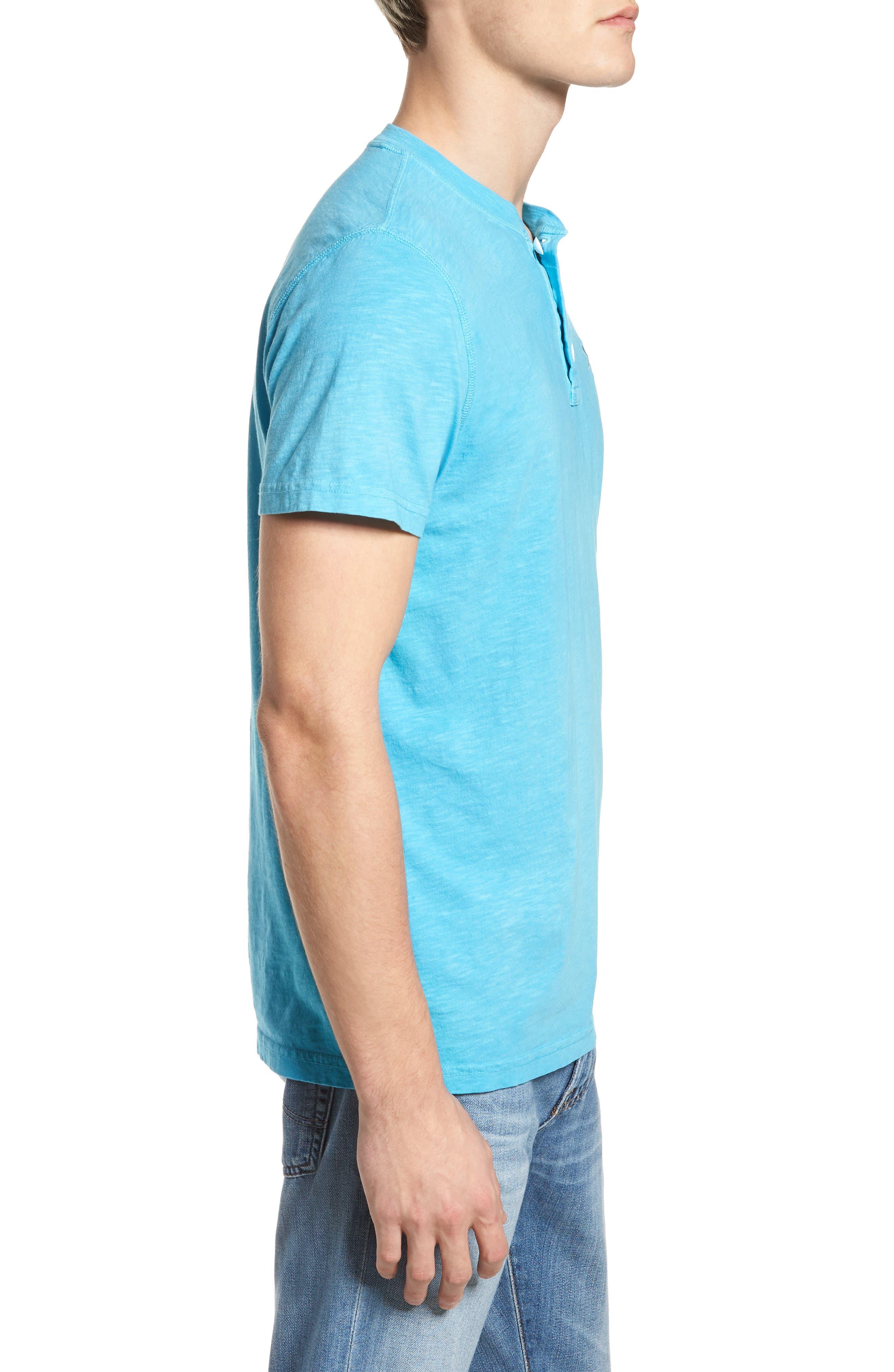 Sunwash Henley T-Shirt,                             Alternate thumbnail 14, color,