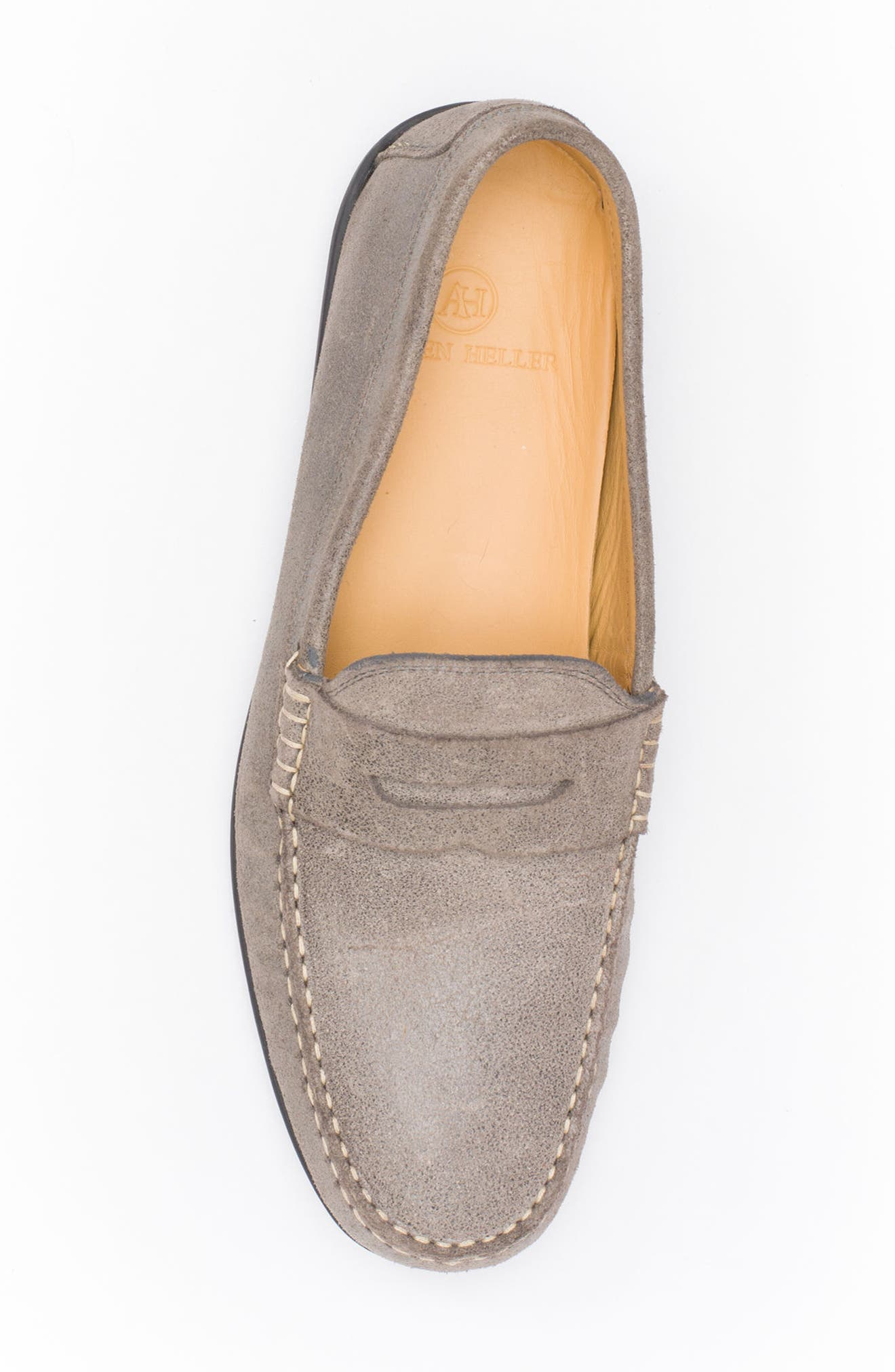 Barretts Penny Loafer,                             Alternate thumbnail 5, color,                             GREY