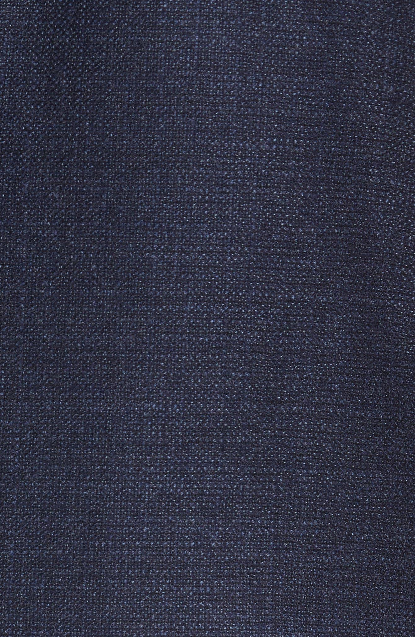 Trim Fit Wool Blazer,                             Alternate thumbnail 6, color,                             400