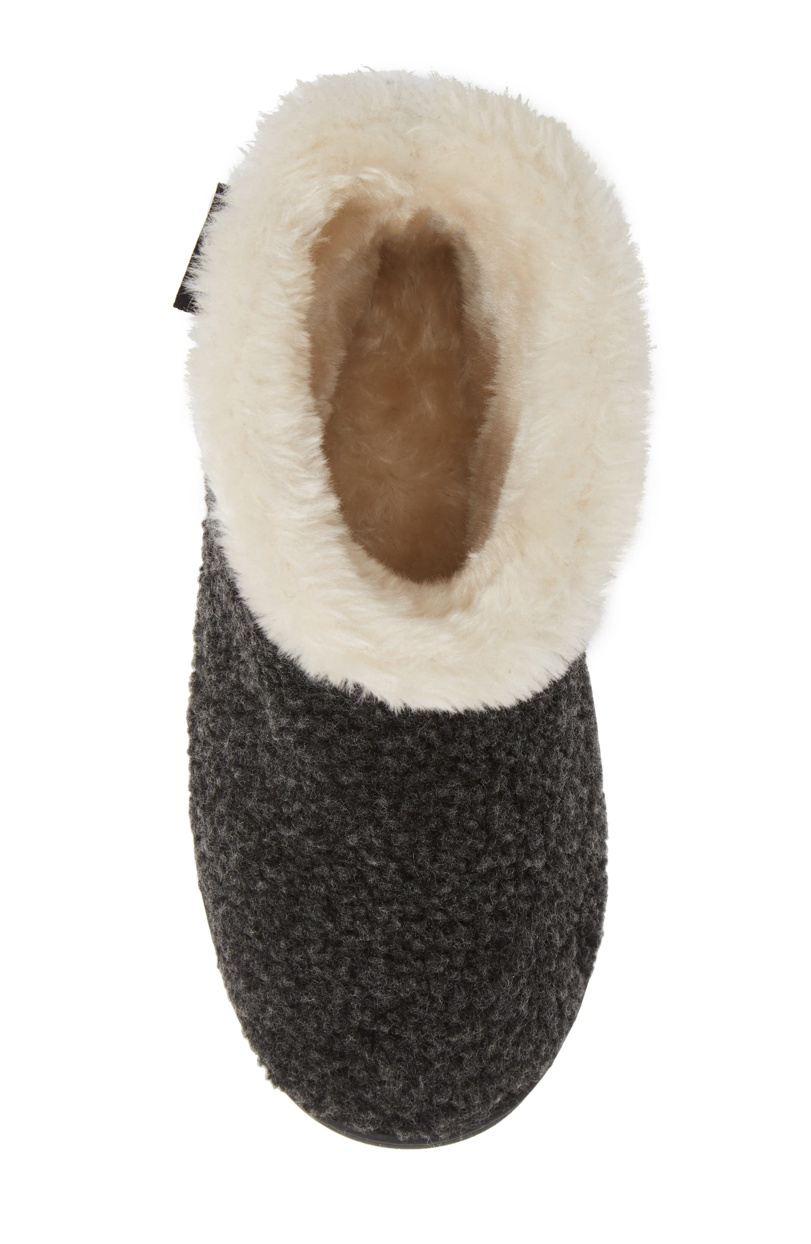 Betty Bootie,                             Alternate thumbnail 5, color,                             CHARCOAL BERBER