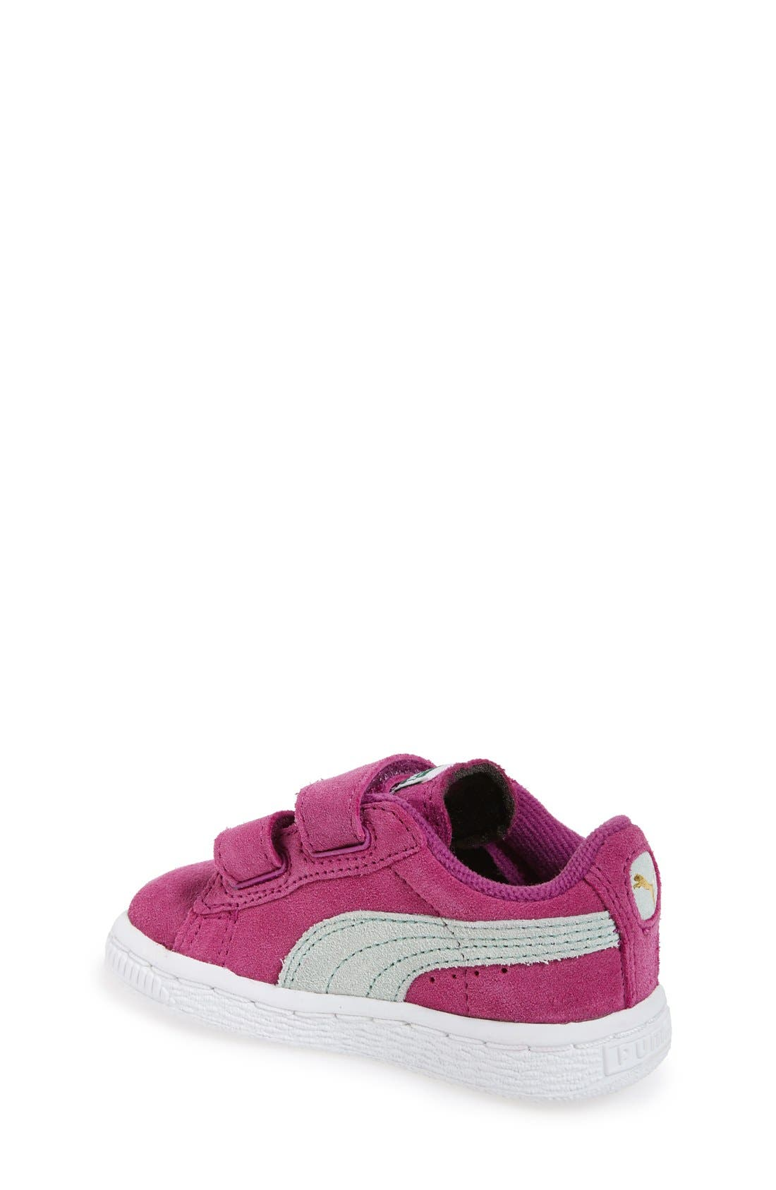 Suede Sneaker,                             Alternate thumbnail 21, color,