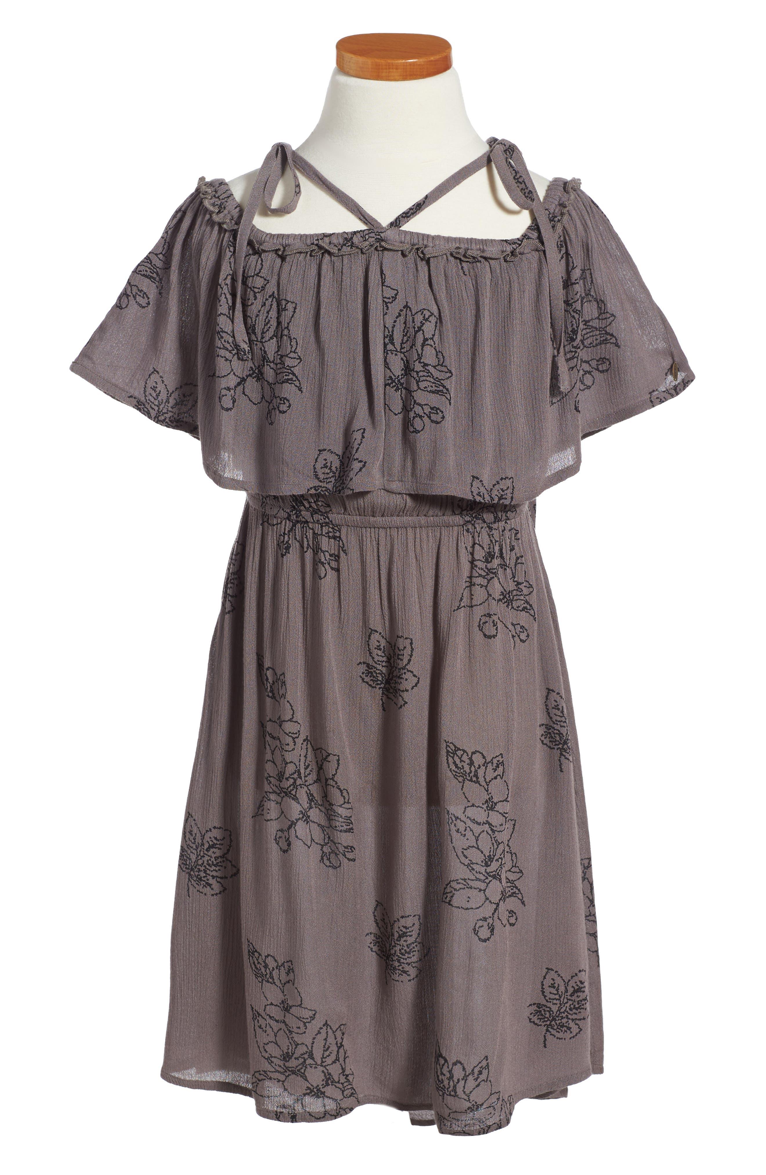 Starla Woven Dress,                         Main,                         color, 020