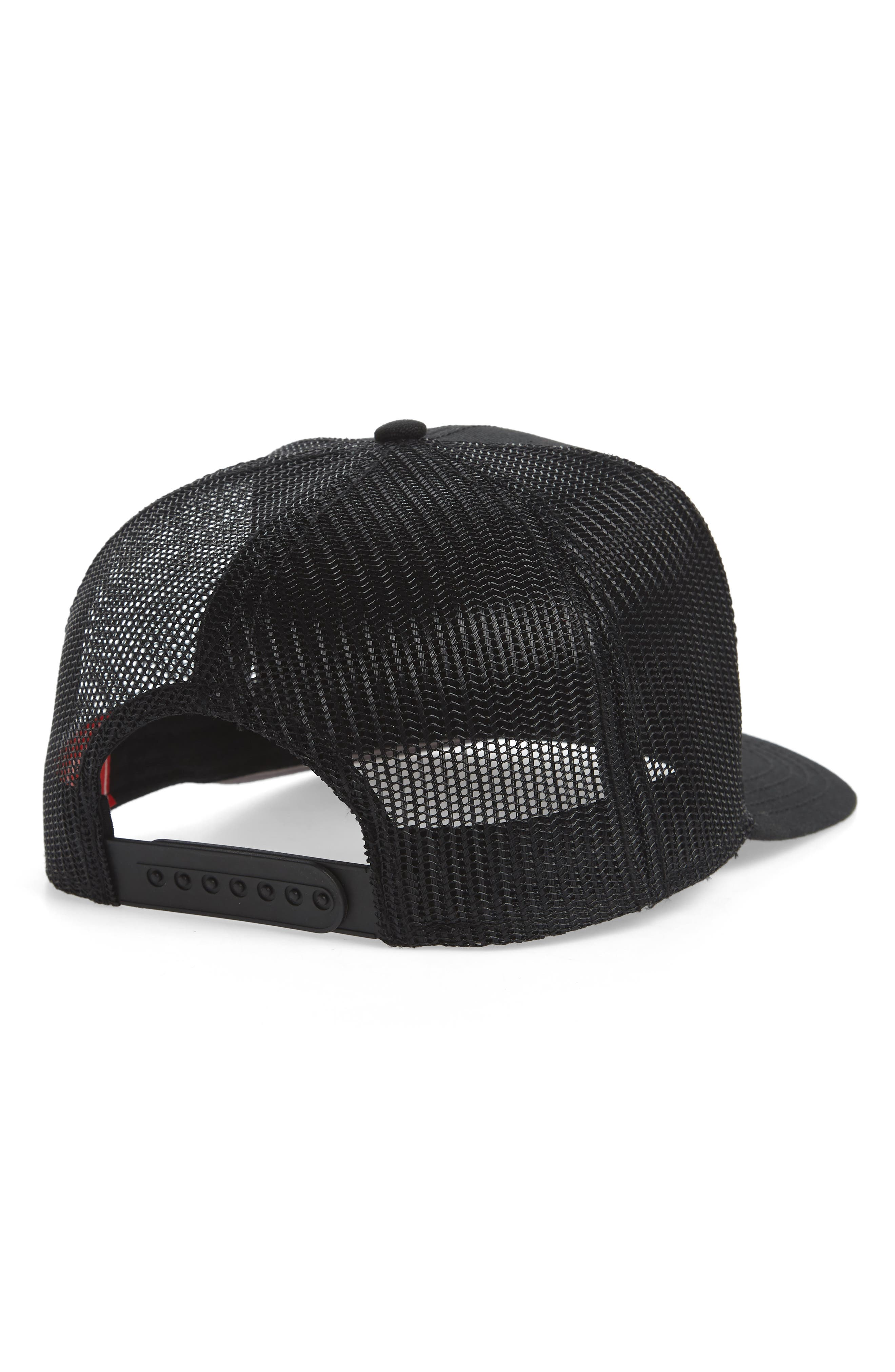 Valin Coast Trucker Cap,                             Alternate thumbnail 3, color,