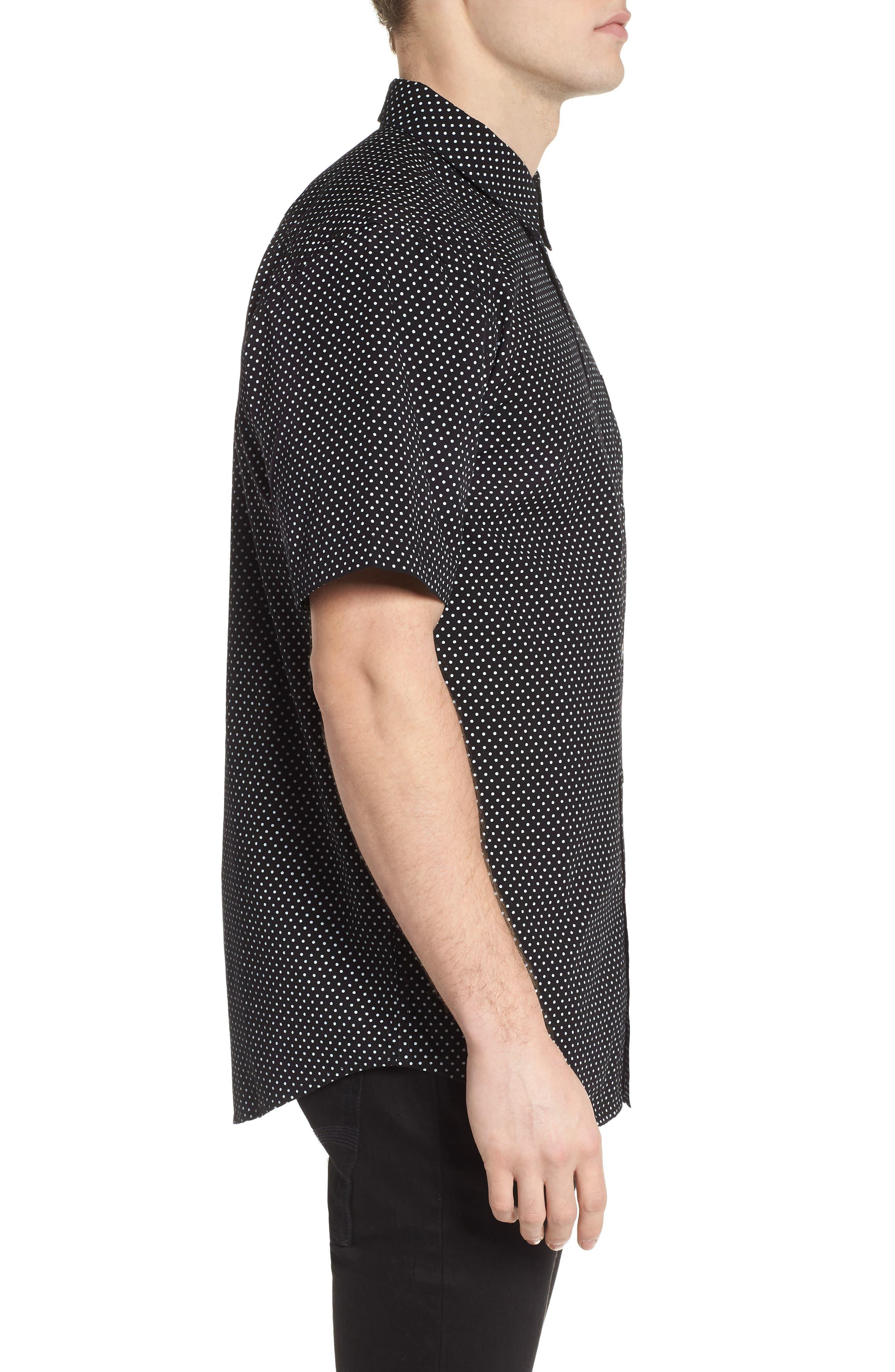 Brozwell Short Sleeve Shirt,                             Alternate thumbnail 3, color,                             001