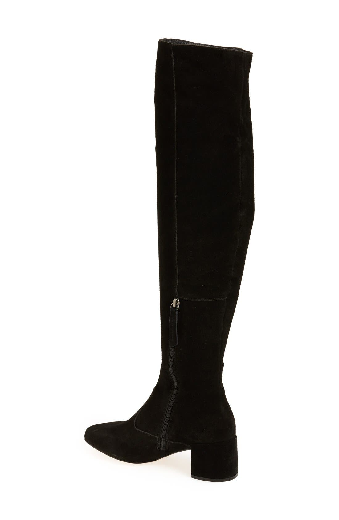 Reginald Over the Knee Boot,                             Alternate thumbnail 2, color,                             005