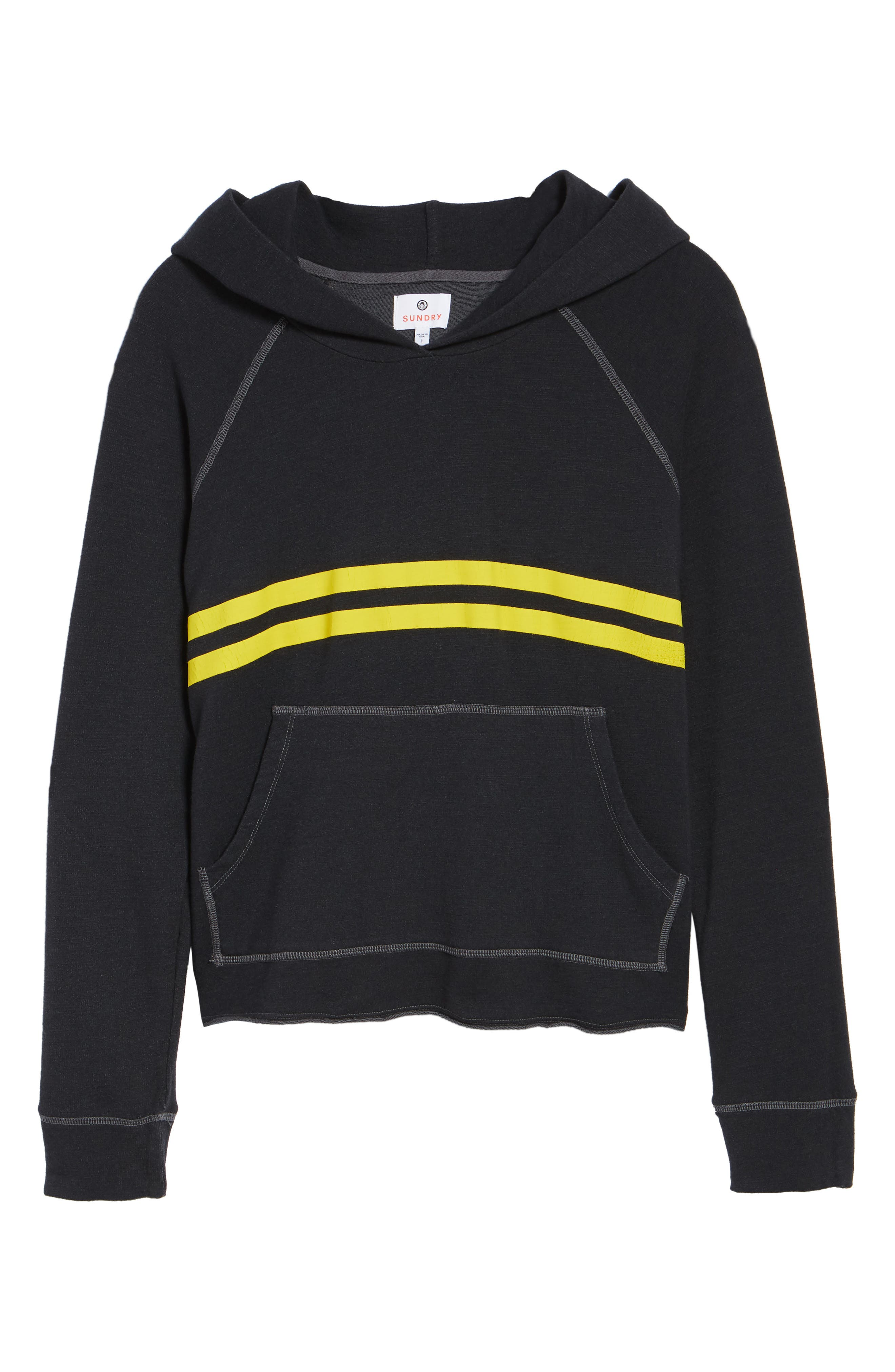 Stripe Hoodie,                             Alternate thumbnail 7, color,