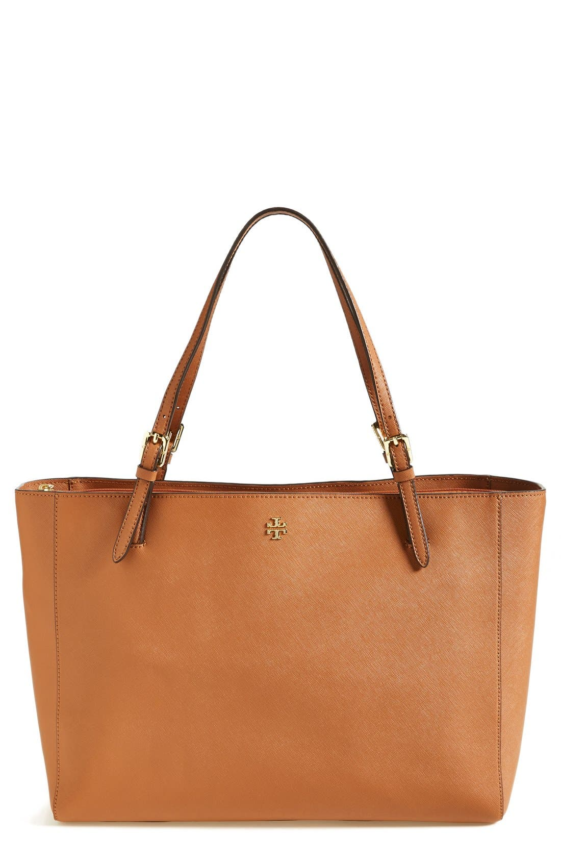 'York' Buckle Tote,                             Main thumbnail 4, color,