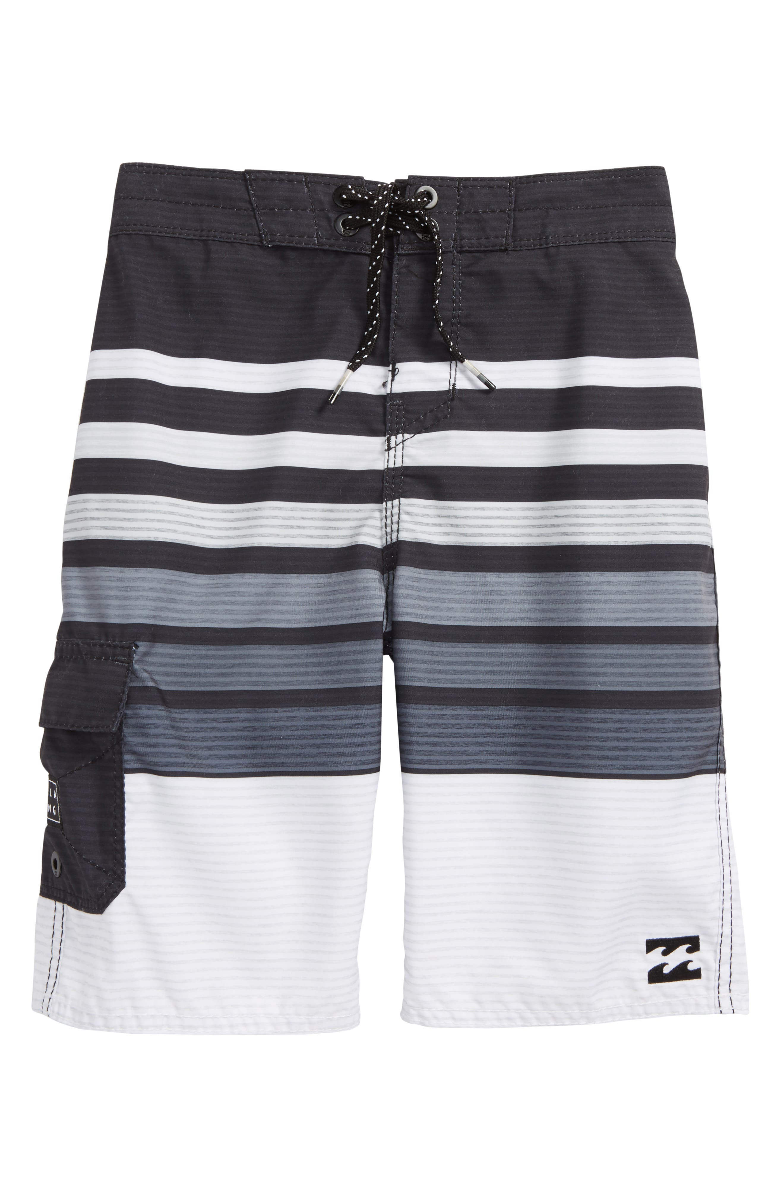 All Day OG Stripe Board Shorts,                         Main,                         color, 001