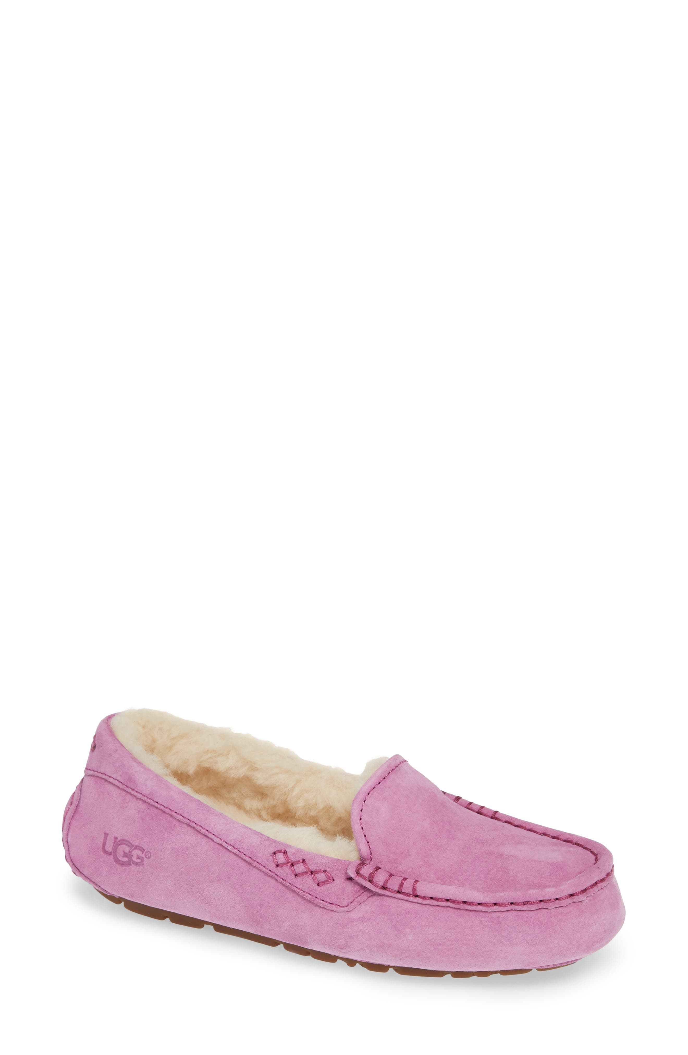 Ugg Ansley Water Resistant Slipper, Purple