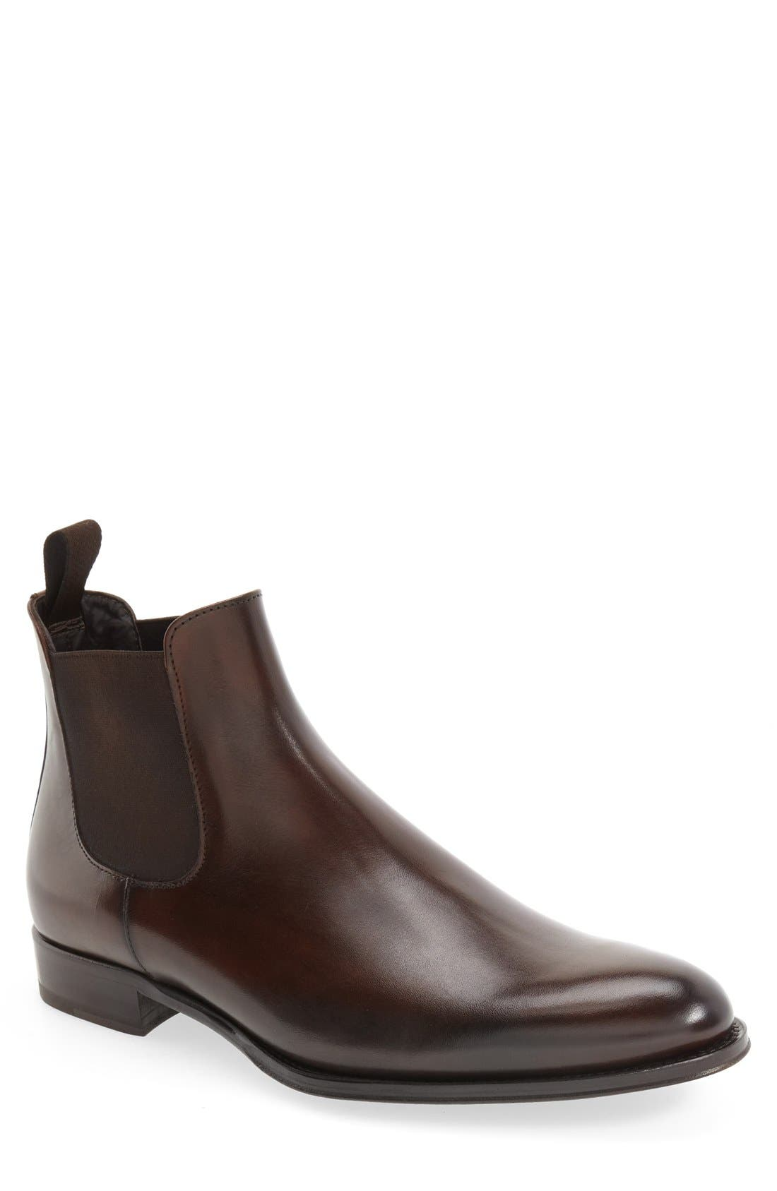 Toby Chelsea Boot,                         Main,                         color, PRAGA TMORO