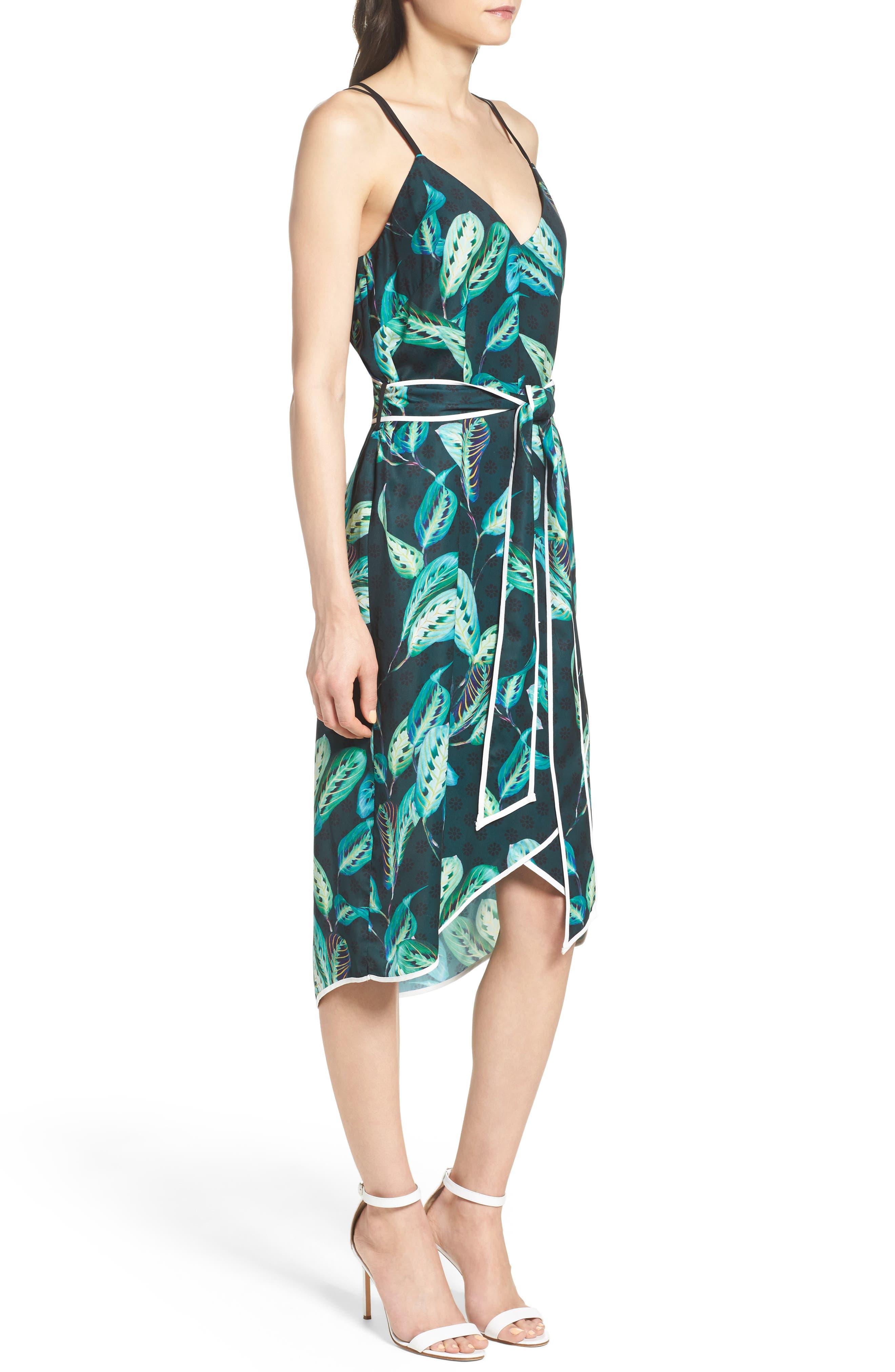 Midi Dress,                             Alternate thumbnail 3, color,                             300