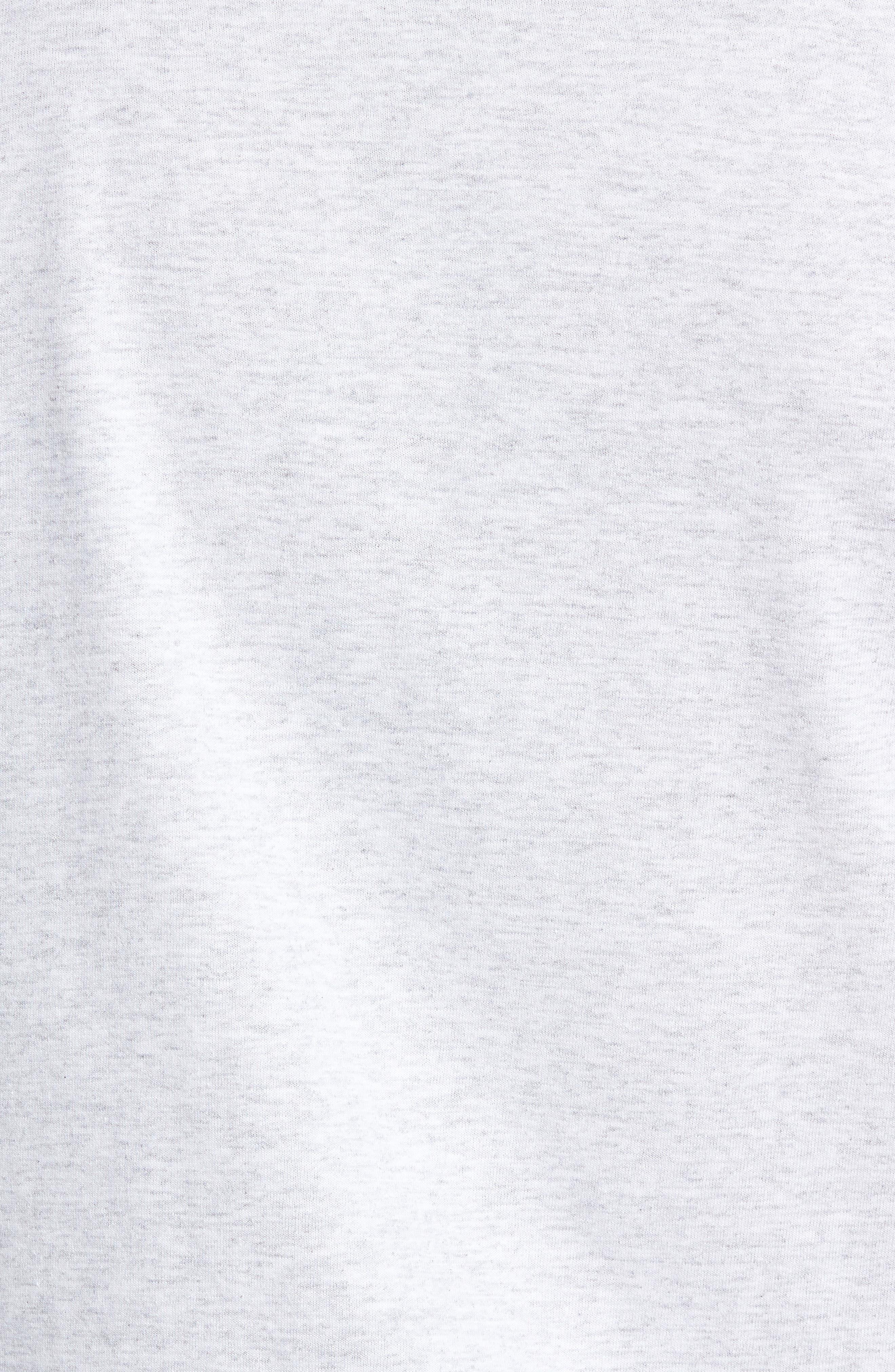 Check It Long Sleeve T-Shirt,                             Alternate thumbnail 5, color,                             ASH HEATHER