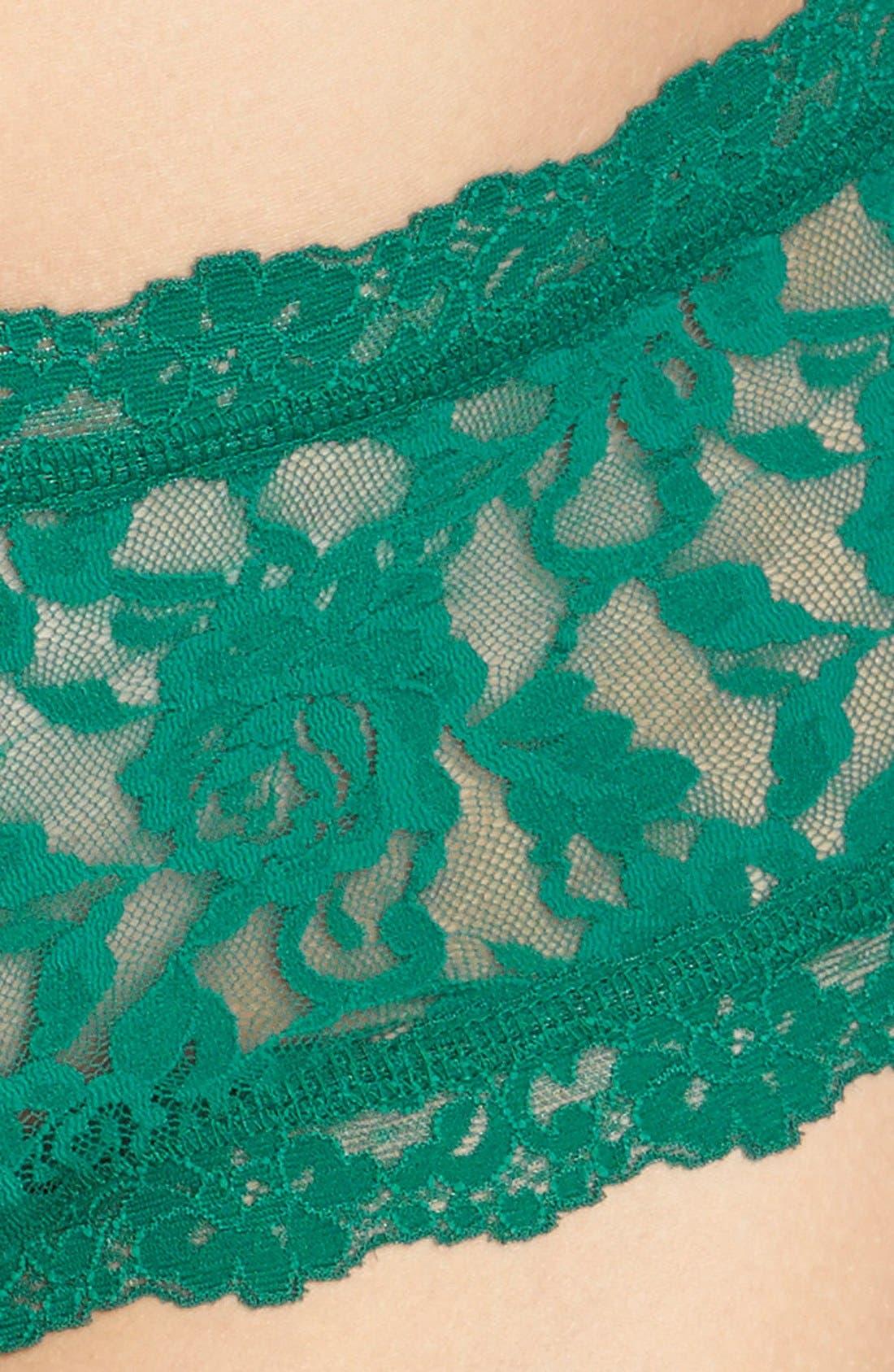 'Signature Lace' Boyshorts,                             Alternate thumbnail 298, color,