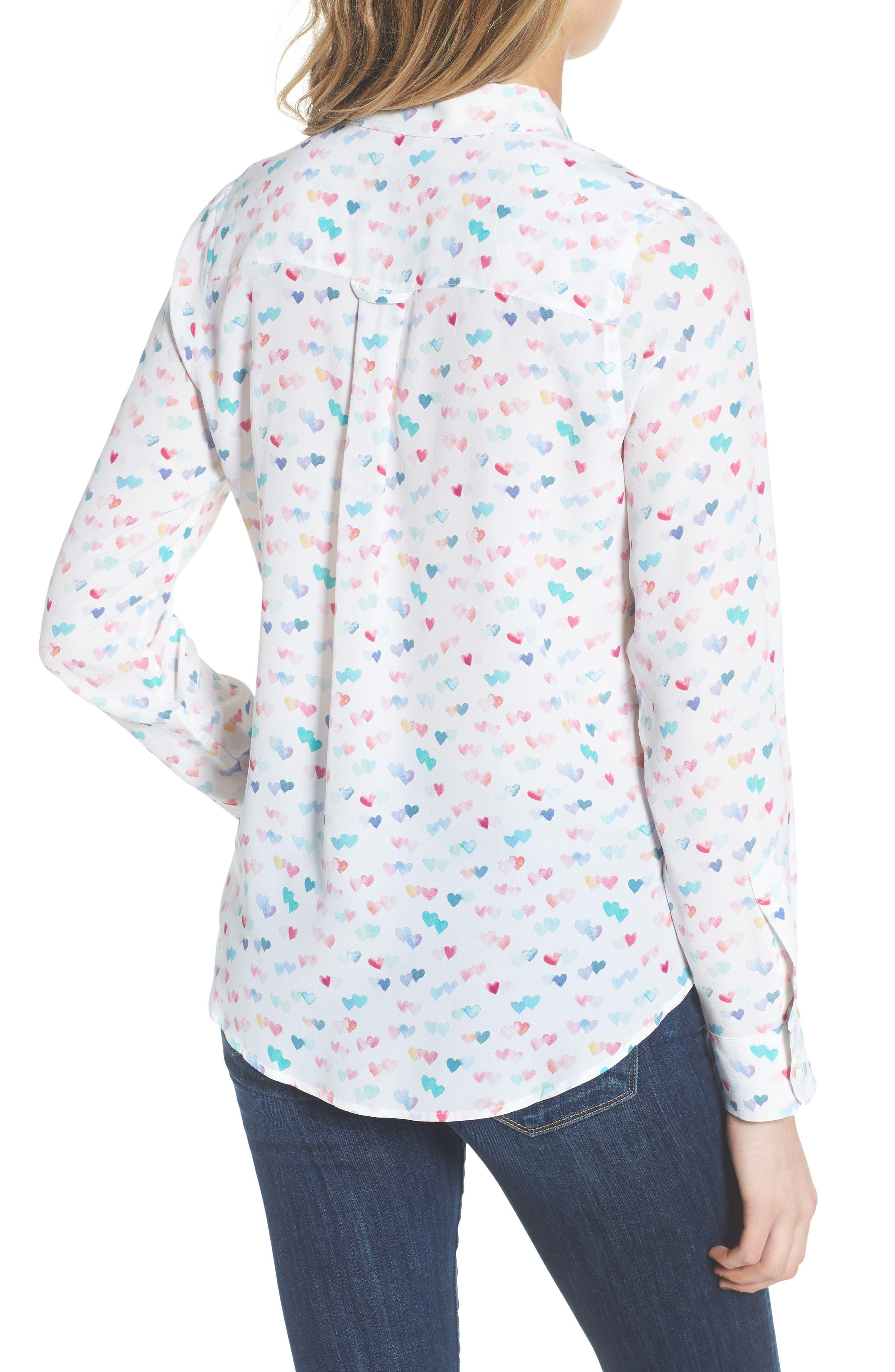 Kate Print Shirt,                             Alternate thumbnail 25, color,