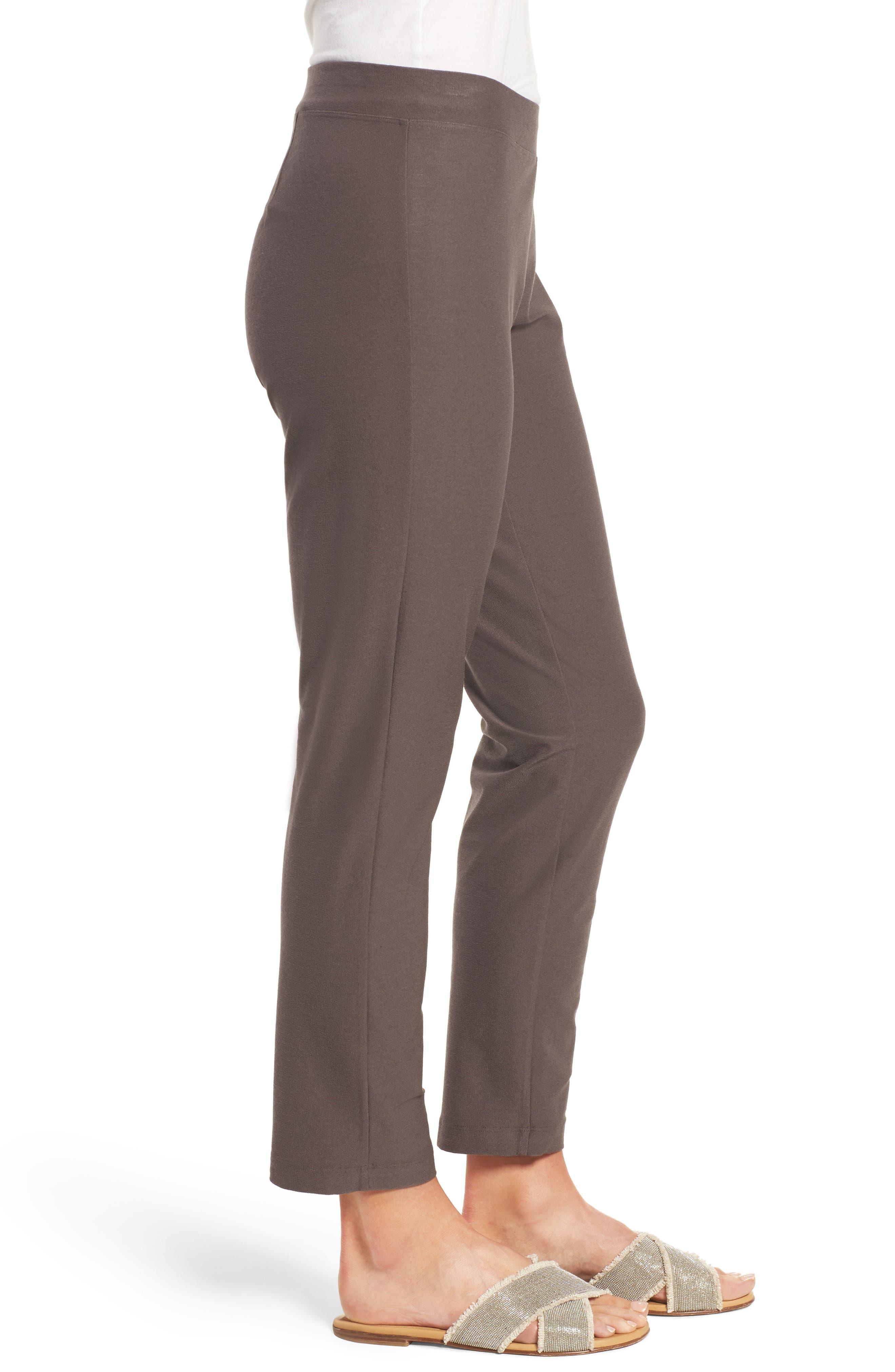 Stretch Crepe Slim Ankle Pants,                             Alternate thumbnail 63, color,