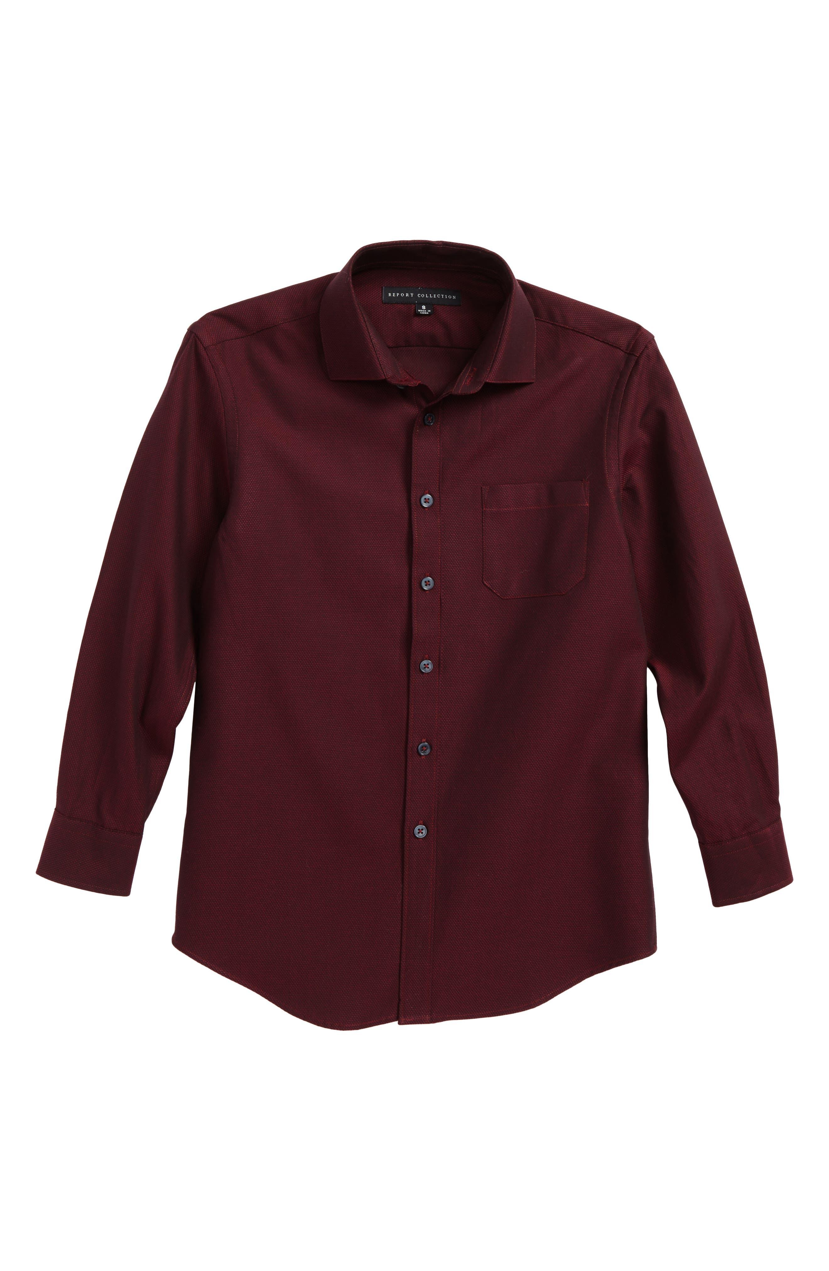 Textured Dress Shirt,                         Main,                         color,