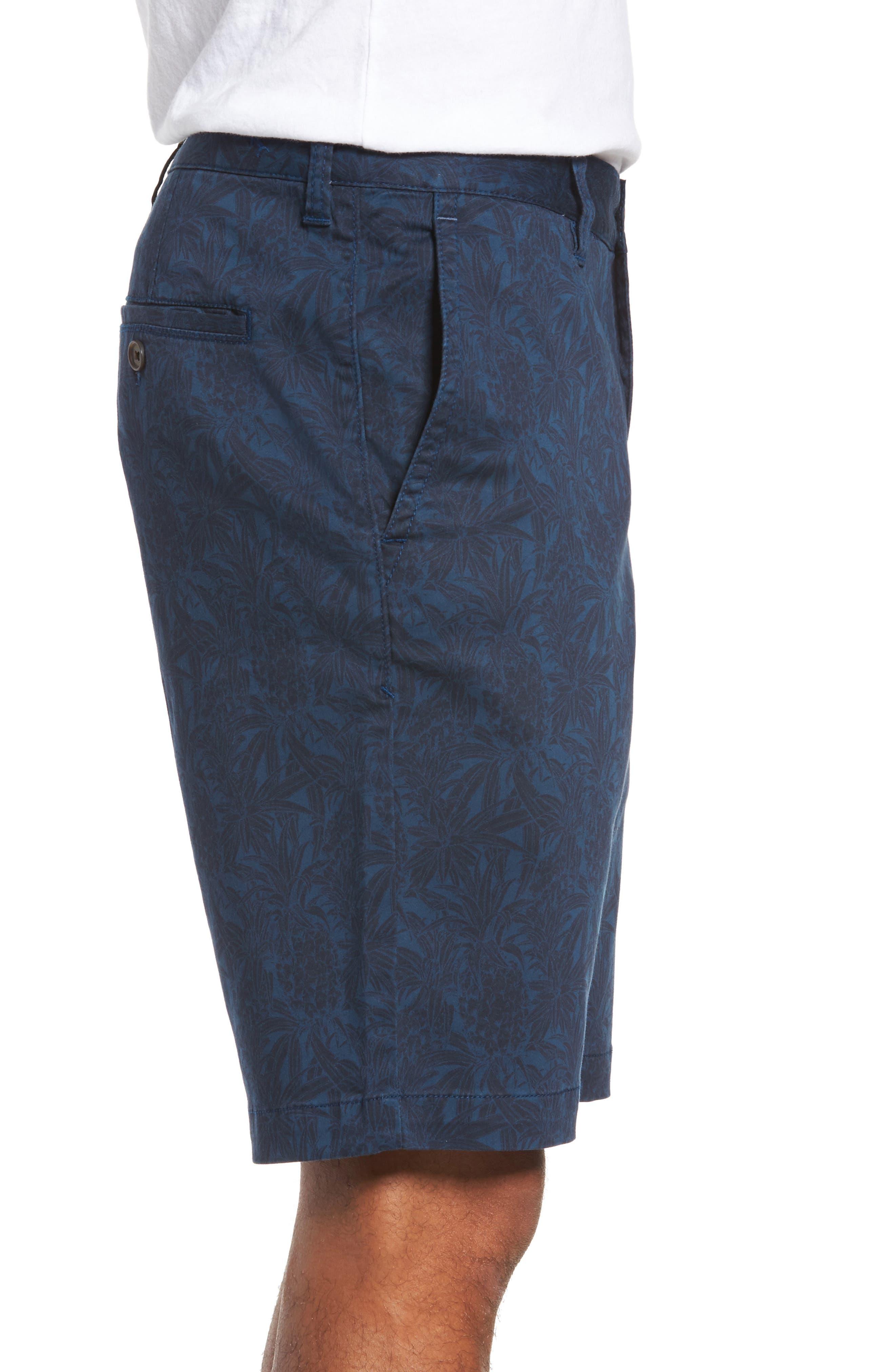 Camo Tropic Standard Fit Chino Shorts,                             Alternate thumbnail 6, color,