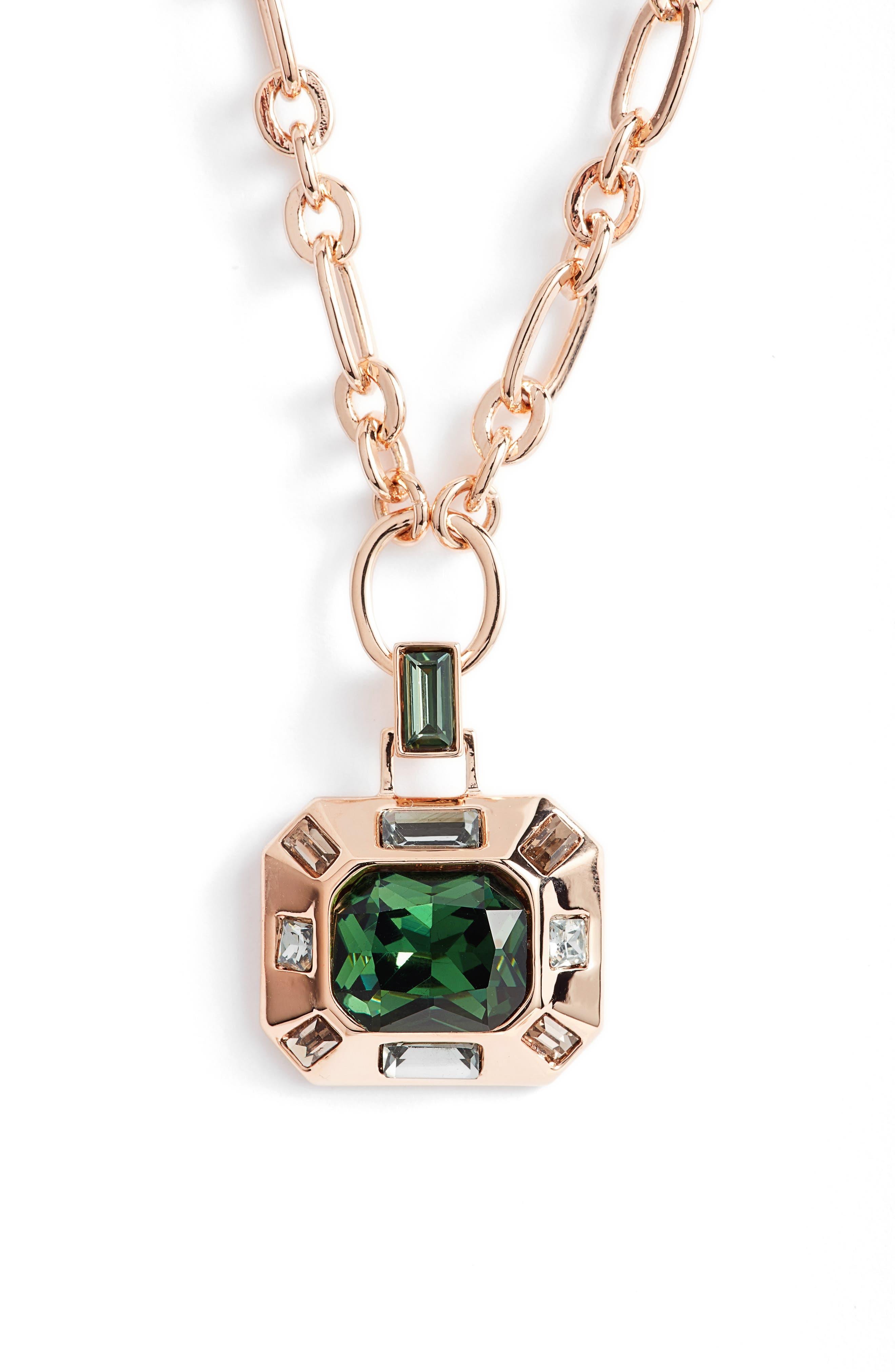 Pendant Necklace,                         Main,                         color, 650