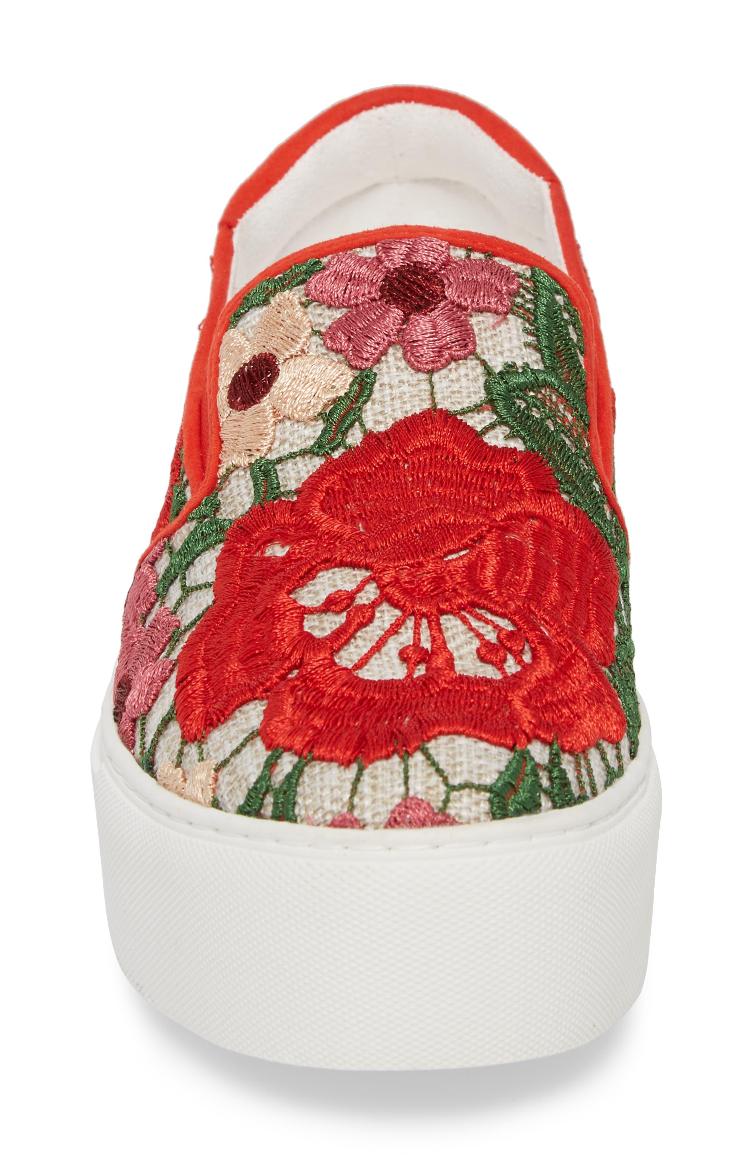 Joanie Slip-On Platform Sneaker,                             Alternate thumbnail 40, color,